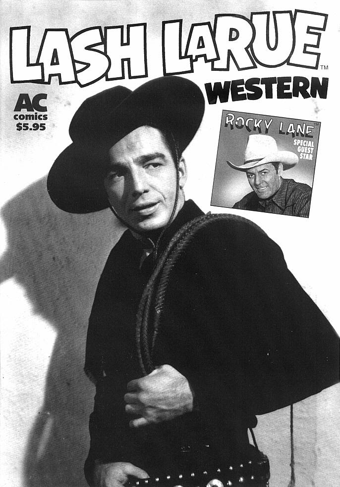 Lash LaRue Western issue 2 - Page 1