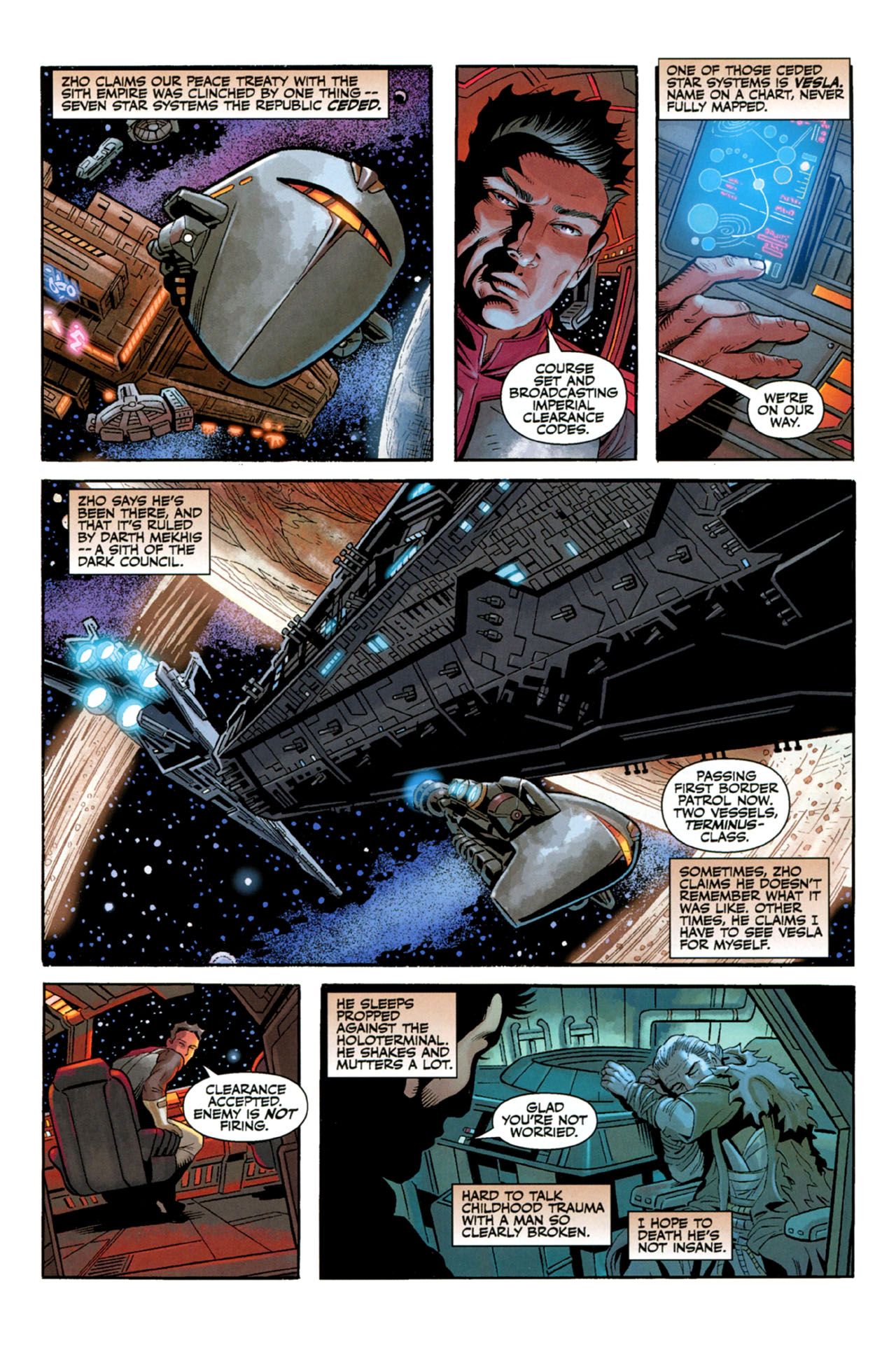 Read online Star Wars: The Old Republic - The Lost Suns comic -  Issue #3 - 8