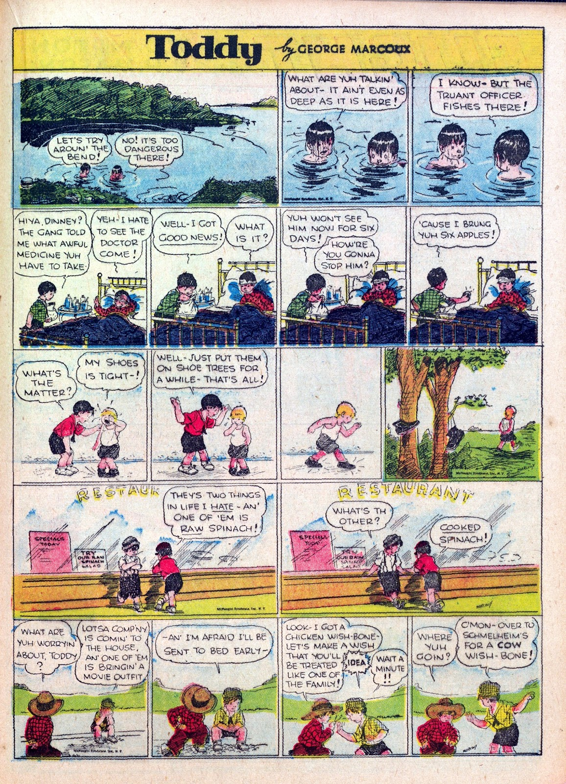 Read online Famous Funnies comic -  Issue #27 - 41