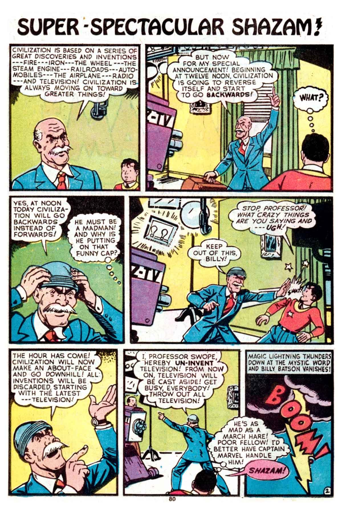 Read online Shazam! (1973) comic -  Issue #15 - 80