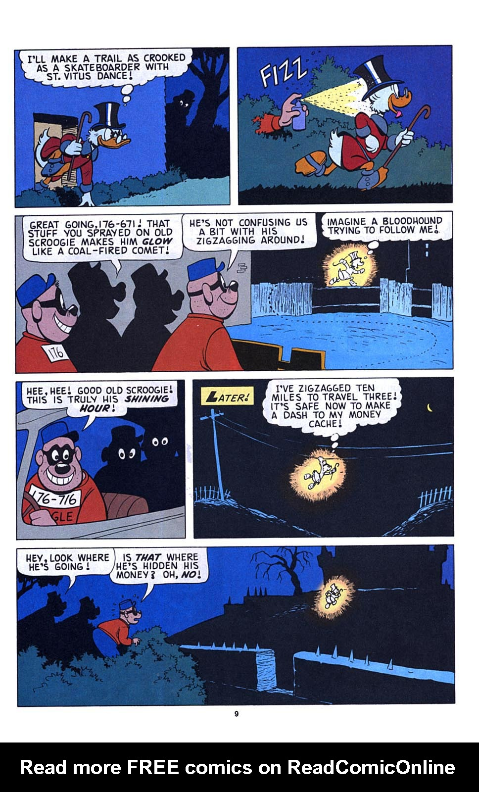 Read online Uncle Scrooge (1953) comic -  Issue #273 - 10