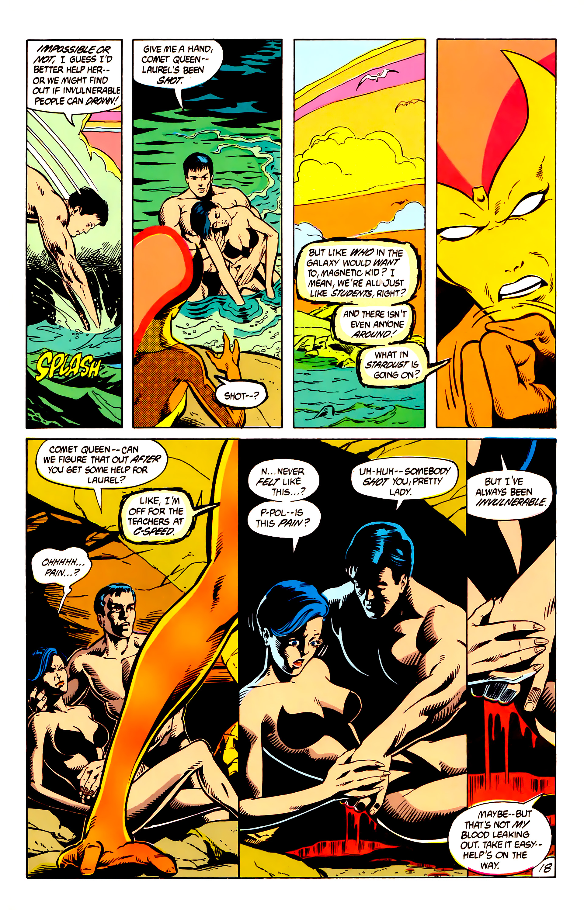 Legion of Super-Heroes (1984) 8 Page 19