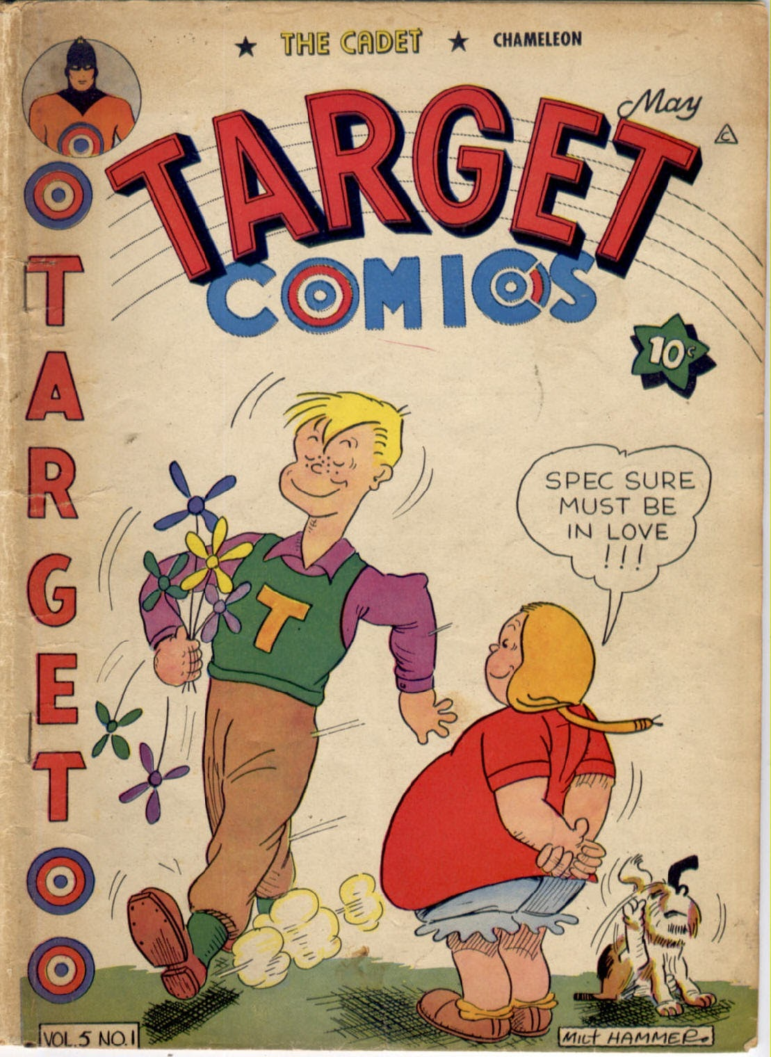 Target Comics issue 49 - Page 1