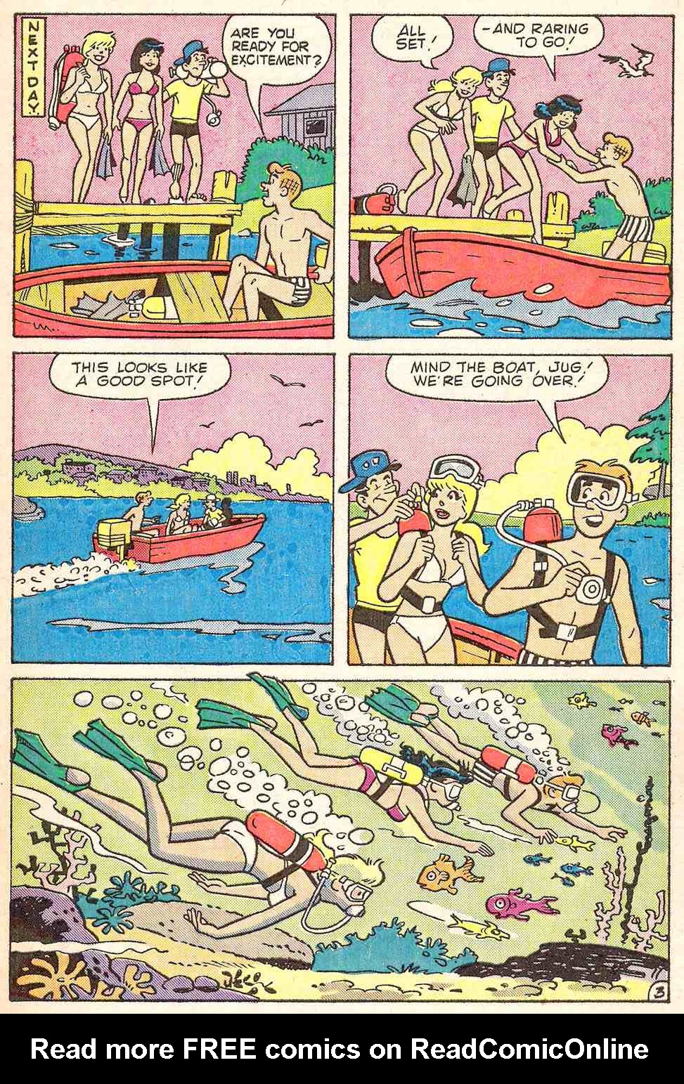 Read online Archie's Girls Betty and Veronica comic -  Issue #344 - 5
