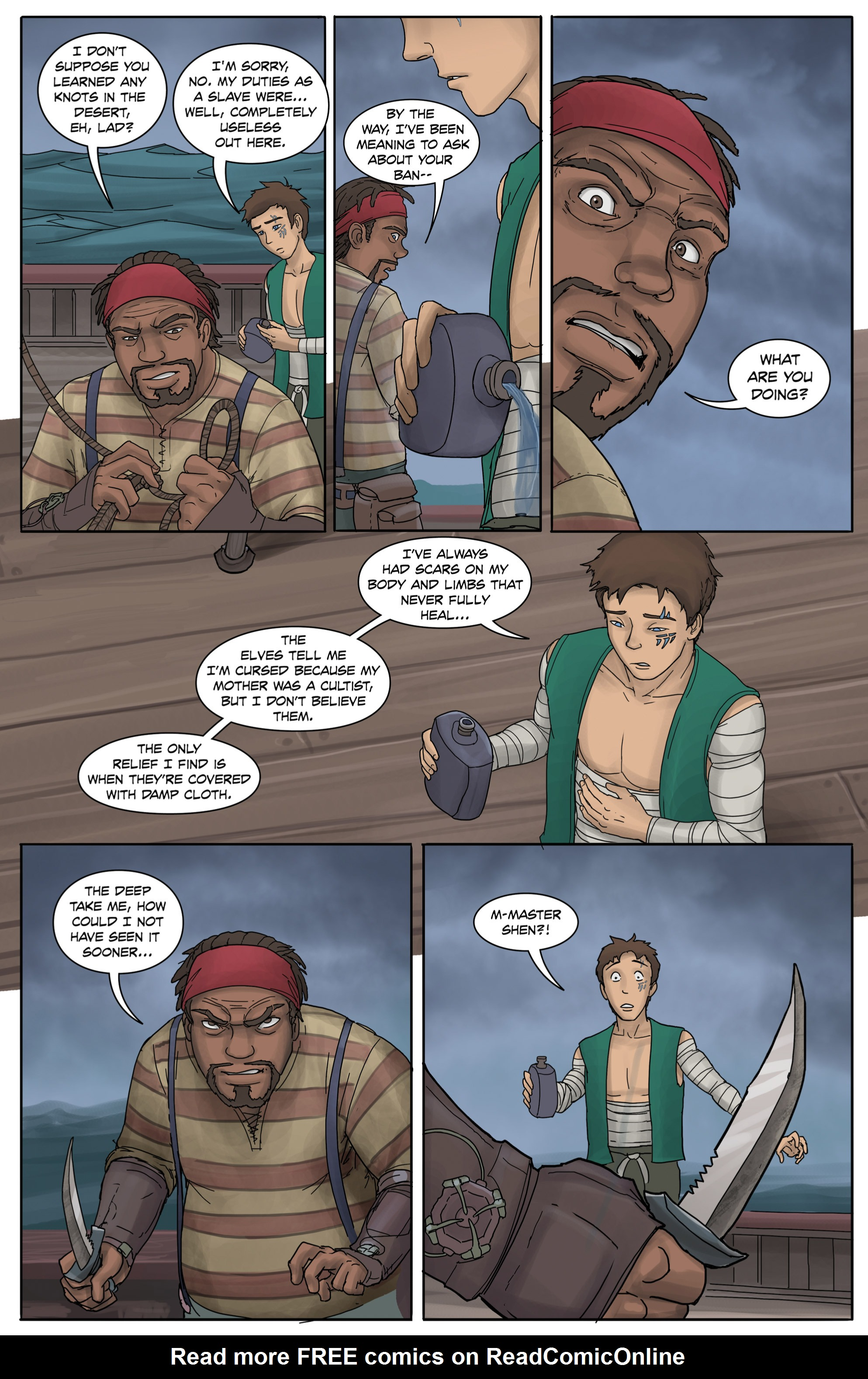 Read online Anne Bonnie comic -  Issue #3 - 10