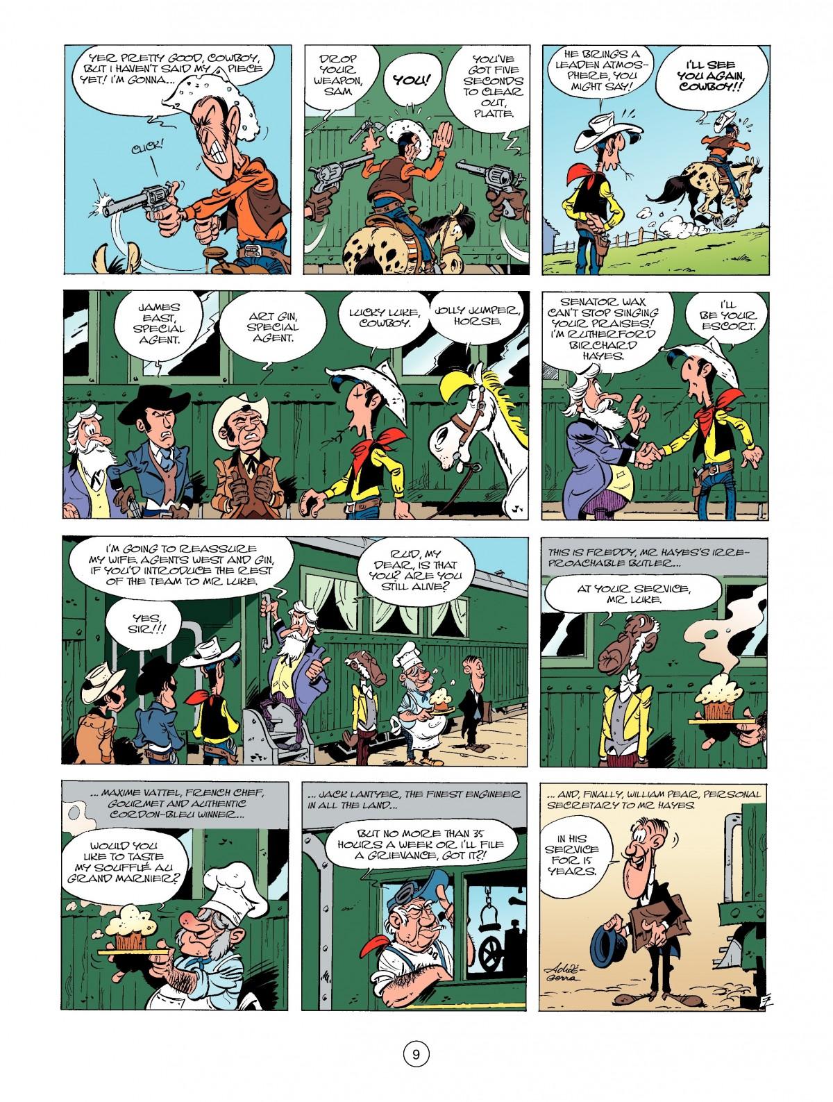Read online A Lucky Luke Adventure comic -  Issue #39 - 9