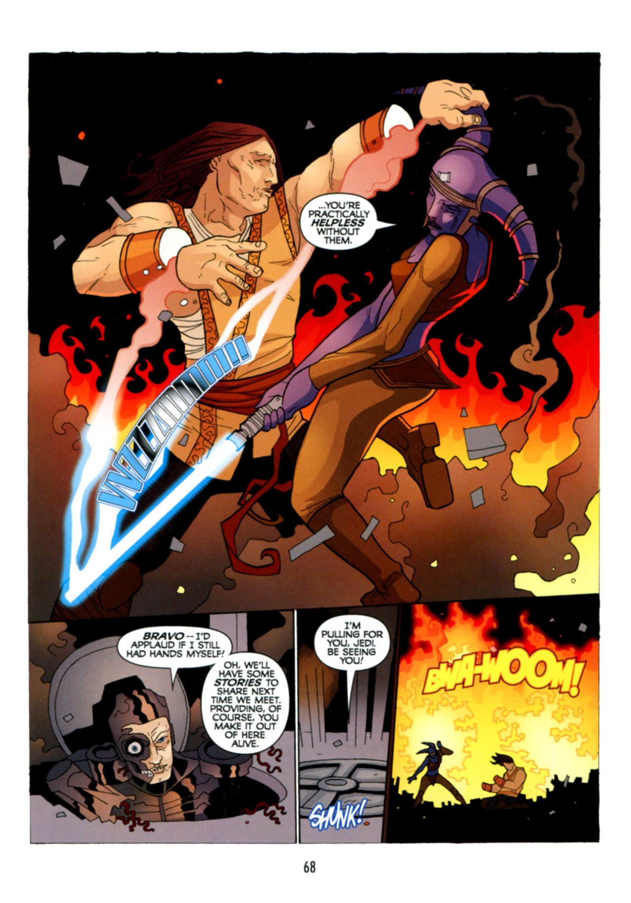 Read online Star Wars: The Clone Wars - Deadly Hands of Shon-Ju comic -  Issue # Full - 69