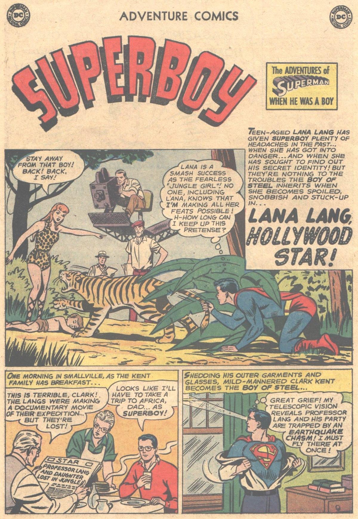 Read online Adventure Comics (1938) comic -  Issue #312 - 22