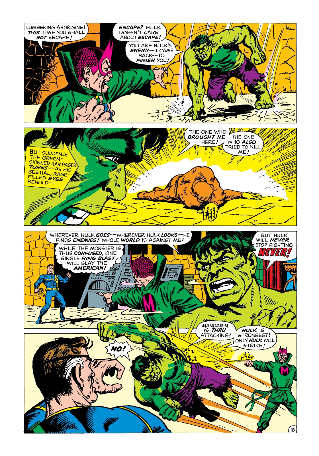 Read online Marvel Masterworks: The Incredible Hulk comic -  Issue # TPB 4 (Part 2) - 30
