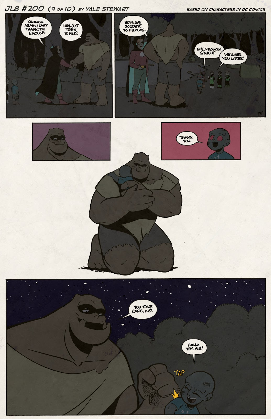 Read online JL8 – The Complete Collection comic -  Issue # TPB (Part 2) - 32