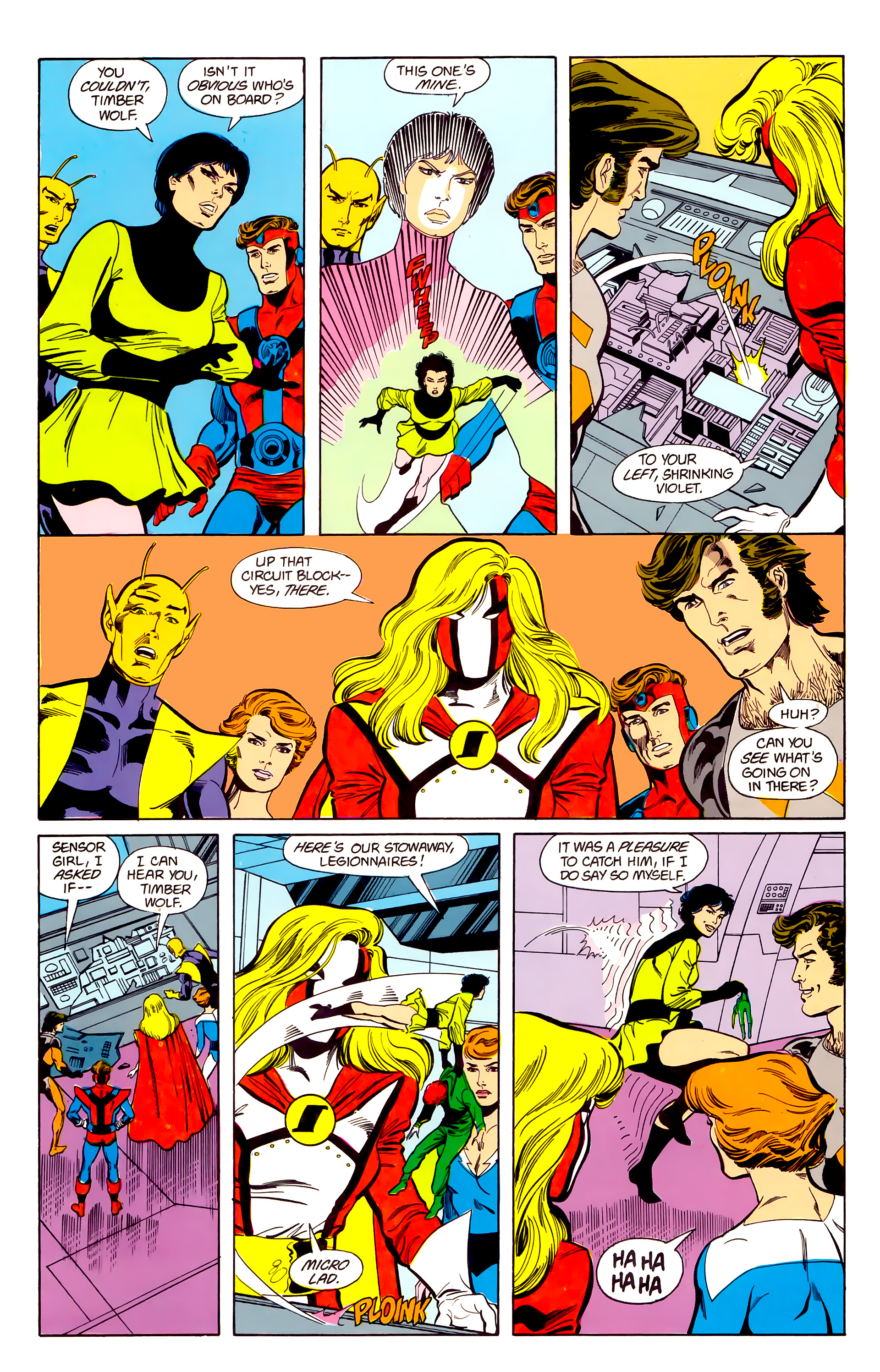 Legion of Super-Heroes (1984) 22 Page 20