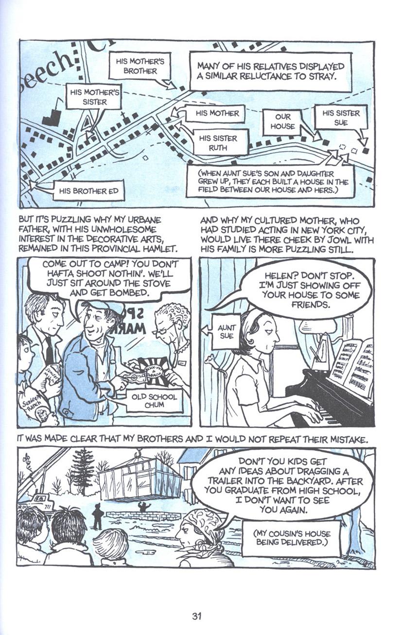 Read online Fun Home: A Family Tragicomic comic -  Issue # TPB - 38