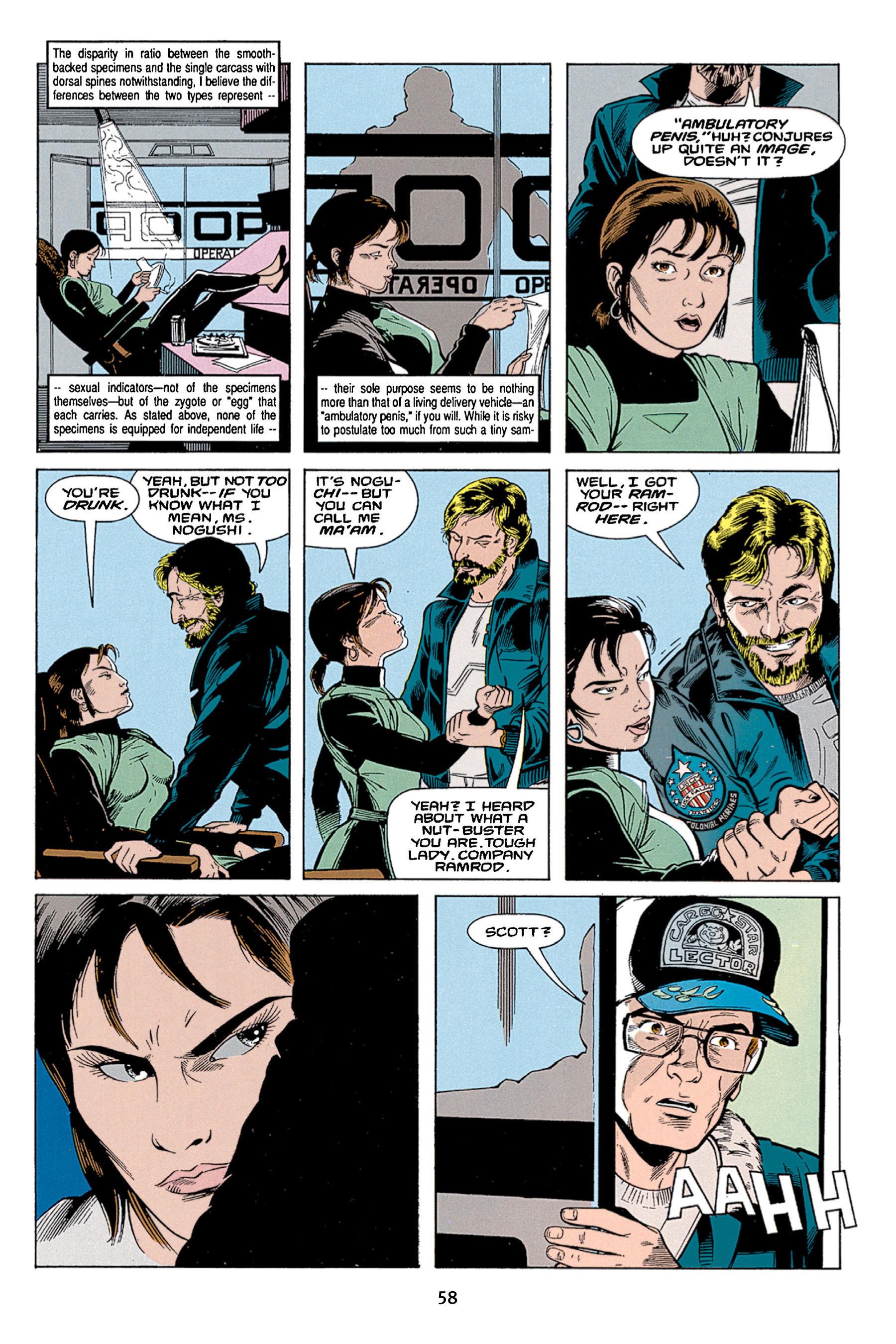 Read online Aliens vs. Predator Omnibus comic -  Issue # _TPB 1 Part 1 - 58