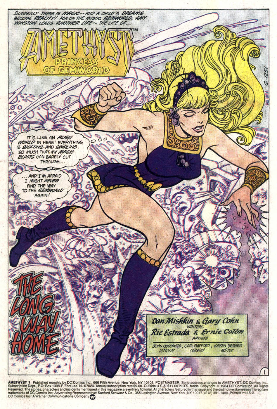 Read online Amethyst (1985) comic -  Issue #1 - 2