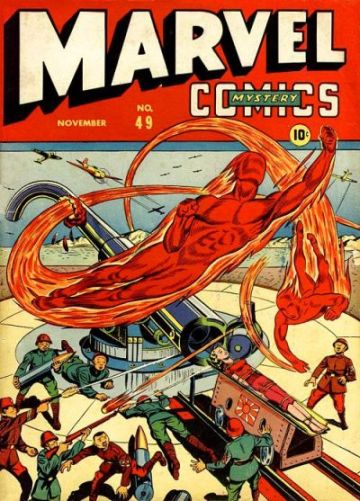 Marvel Mystery Comics 49 Page 1