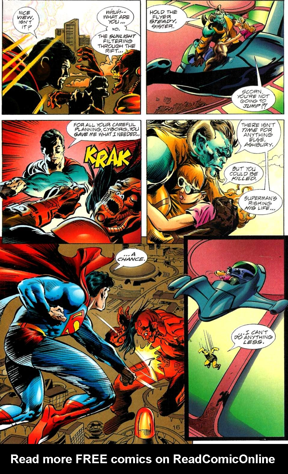Read online Adventures of Superman (1987) comic -  Issue #563 - 16