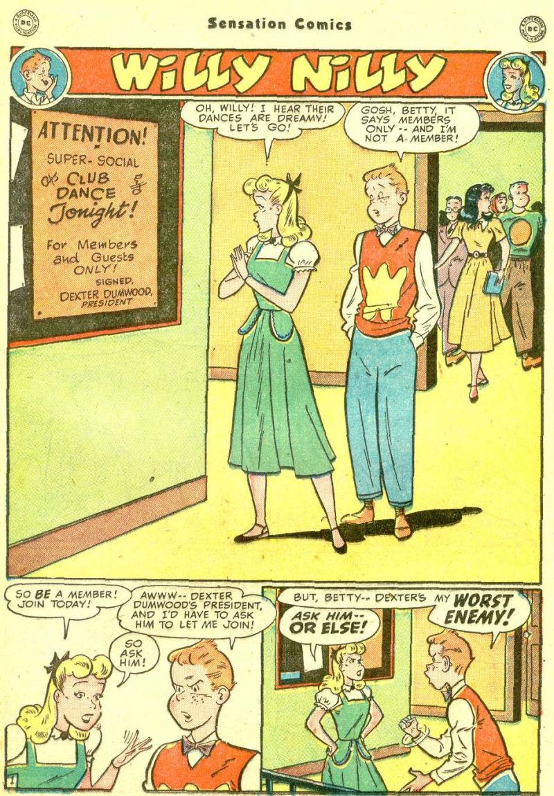 Read online Sensation (Mystery) Comics comic -  Issue #87 - 25