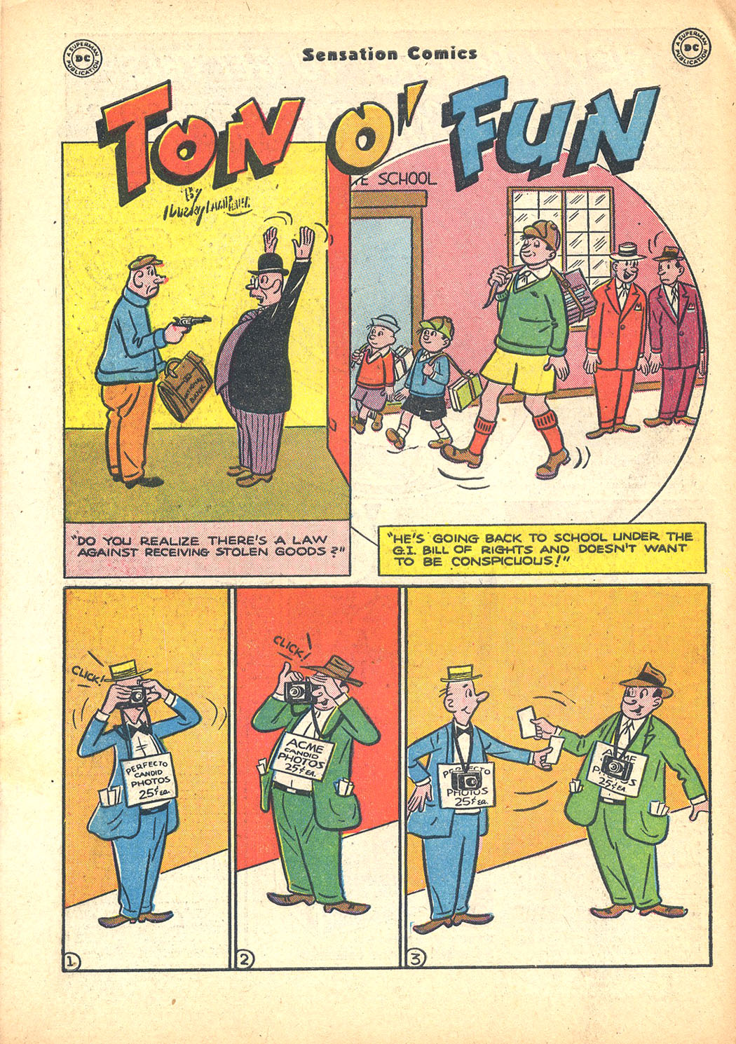 Read online Sensation (Mystery) Comics comic -  Issue #63 - 50