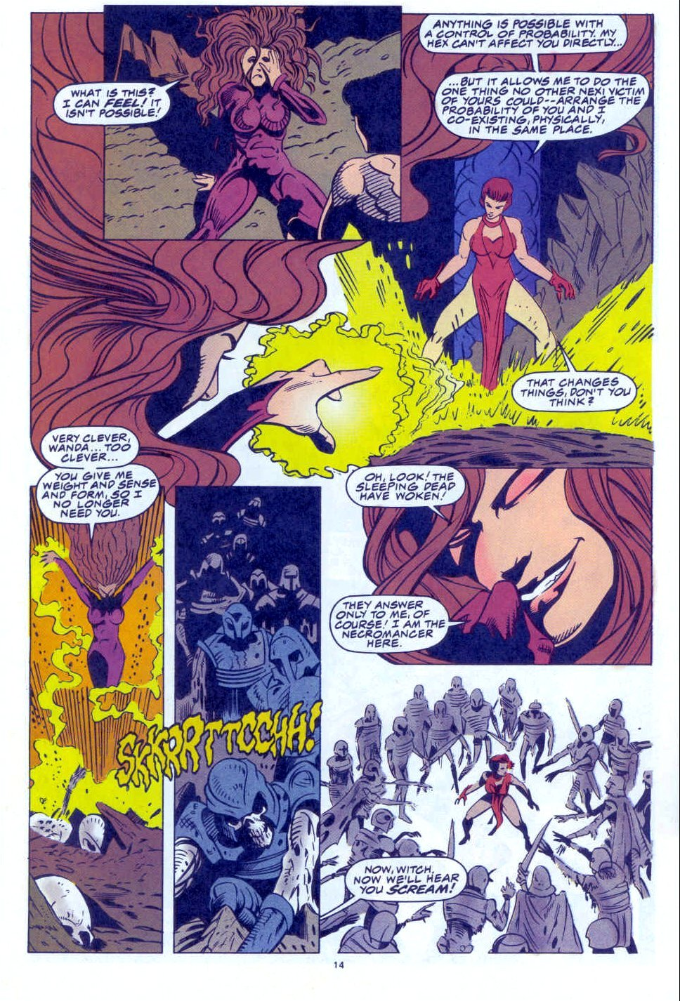 Scarlet Witch (1994) Issue #4 #4 - English 12