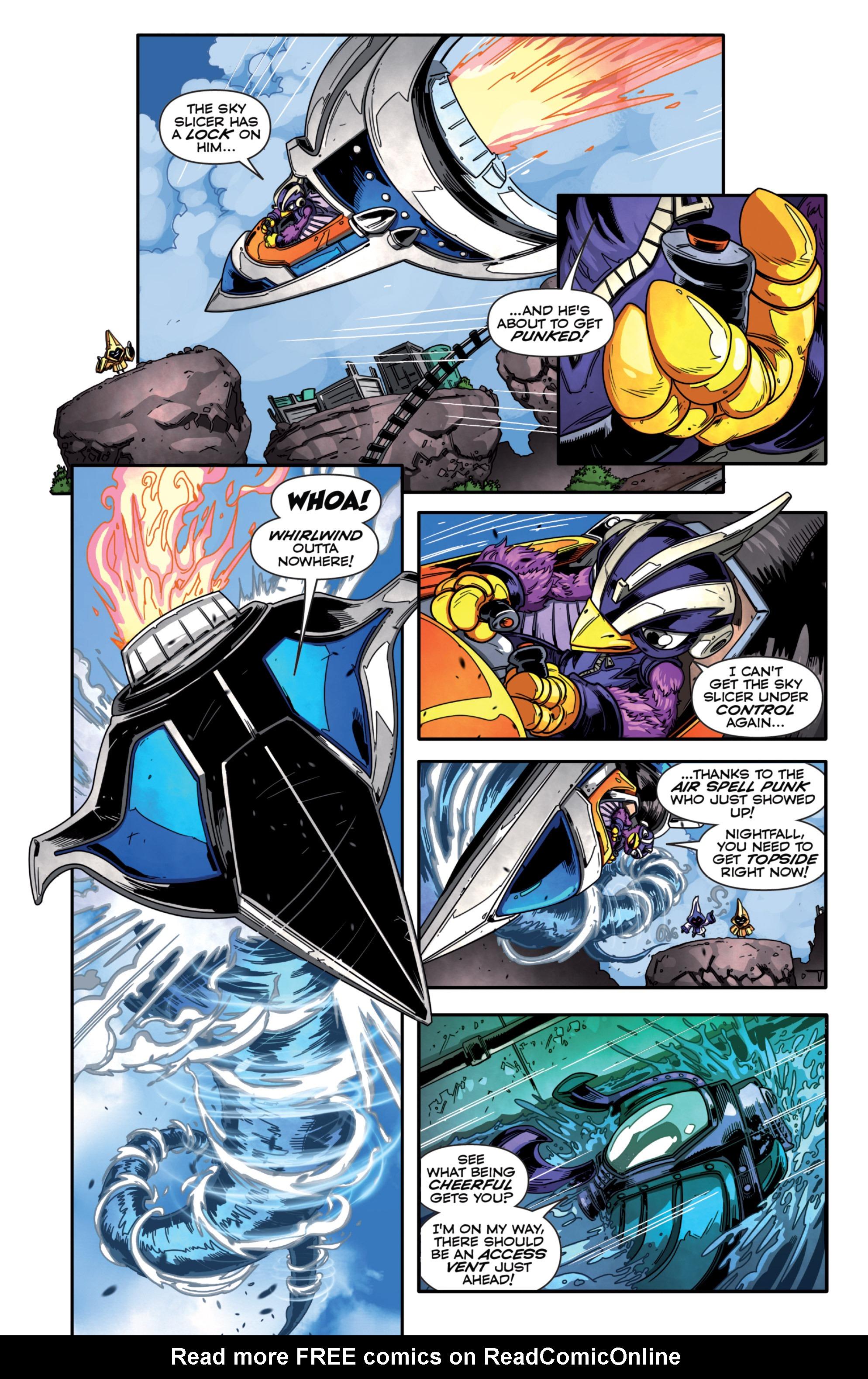 Read online Skylanders Superchargers comic -  Issue #1 - 13