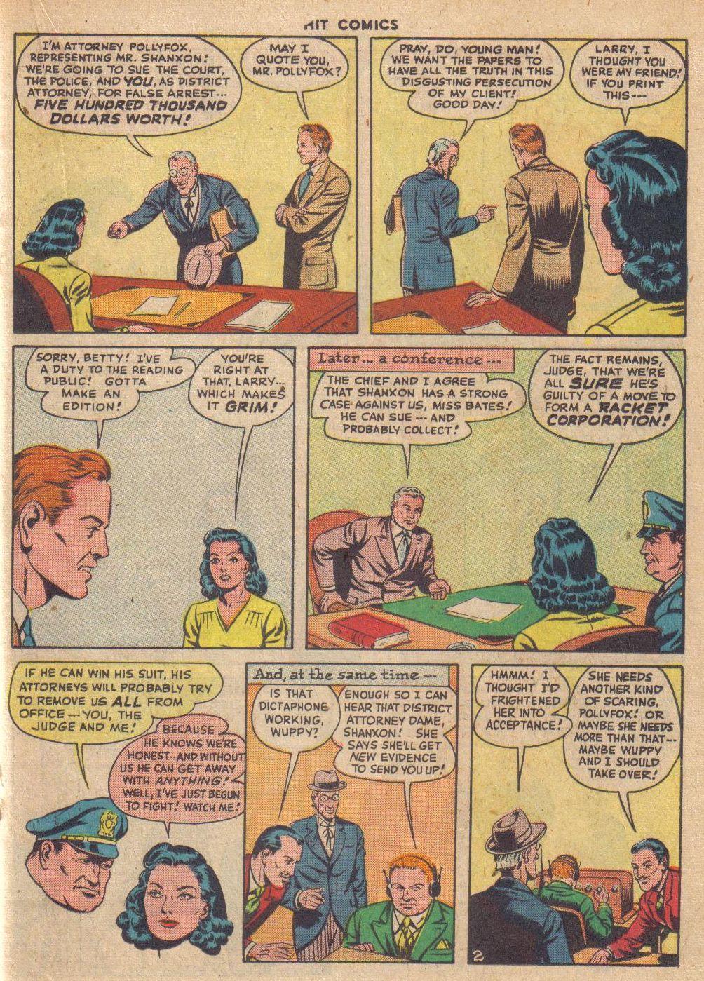Read online Hit Comics comic -  Issue #46 - 31