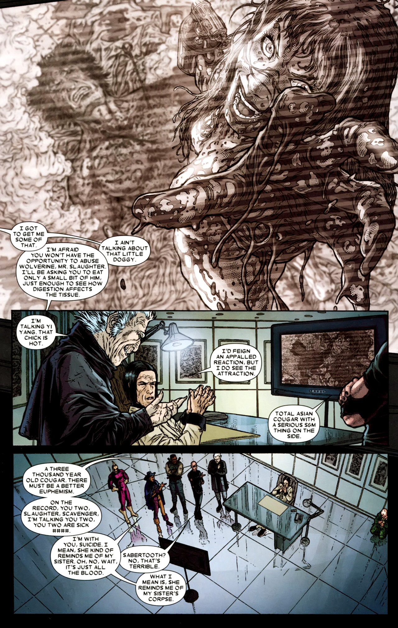Read online Wolverine: The Best There Is comic -  Issue #4 - 9