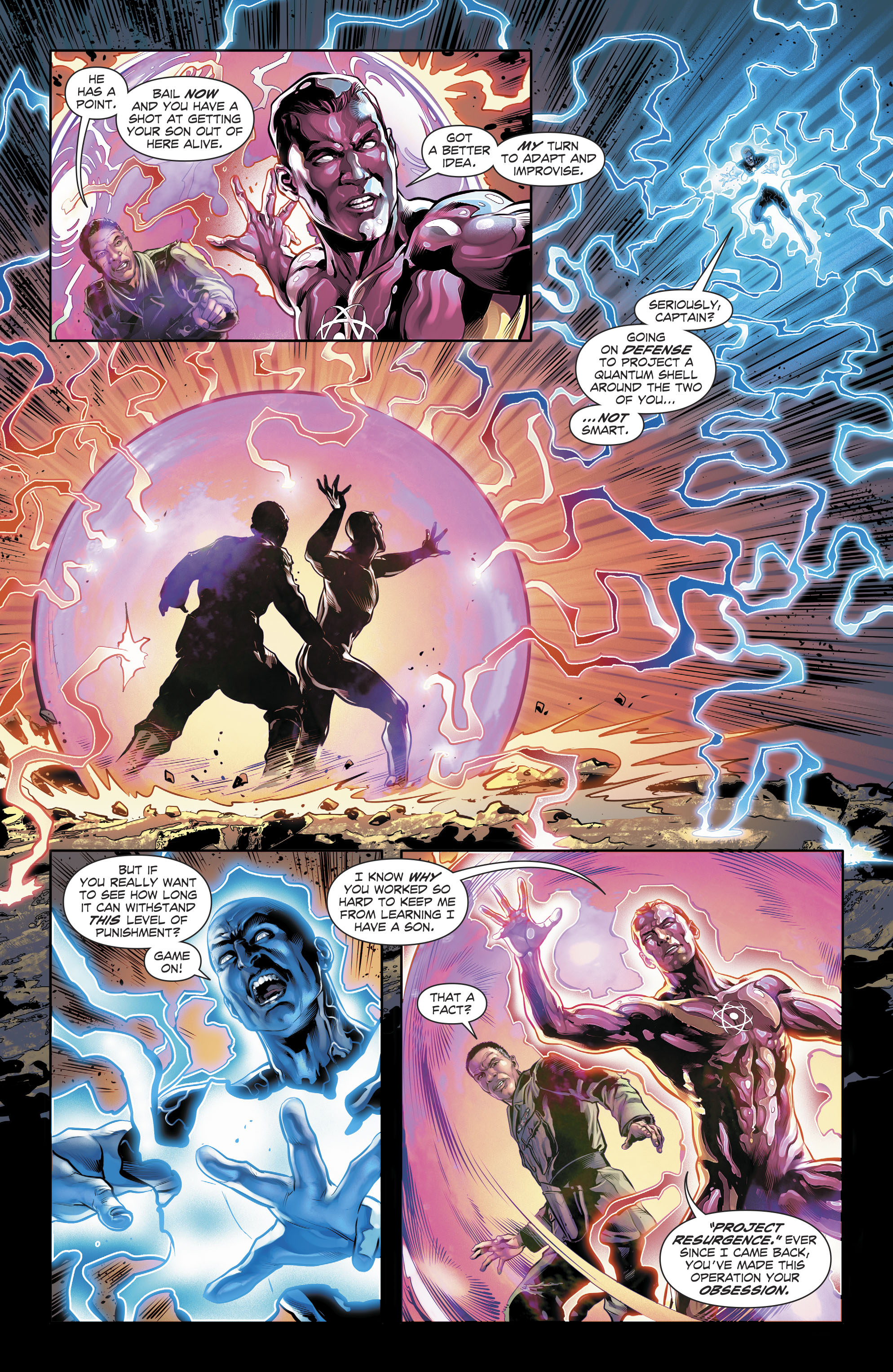 Read online The Fall and Rise of Captain Atom comic -  Issue #6 - 16