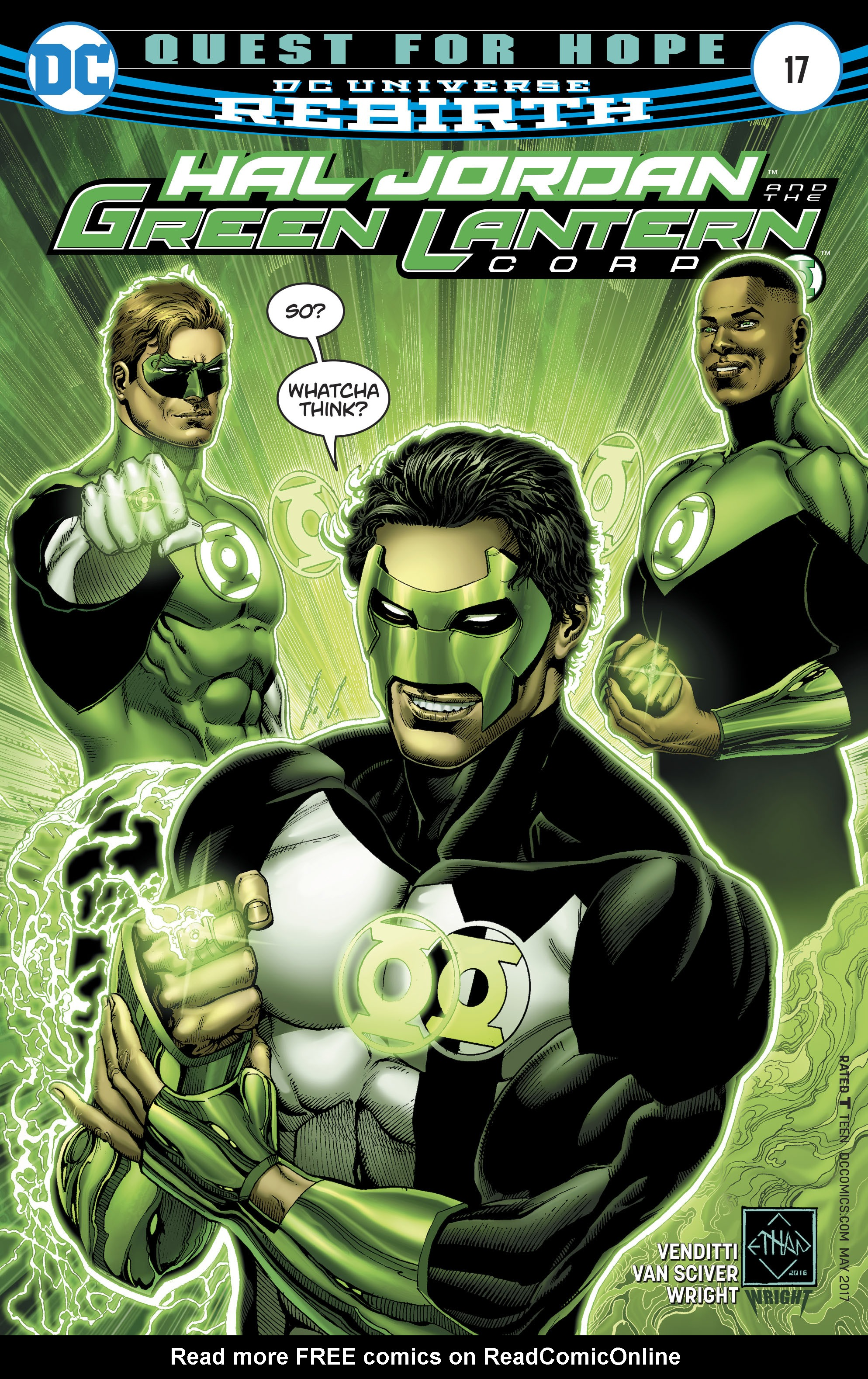 Hal Jordan And The Green Lantern Corps 17 Page 1