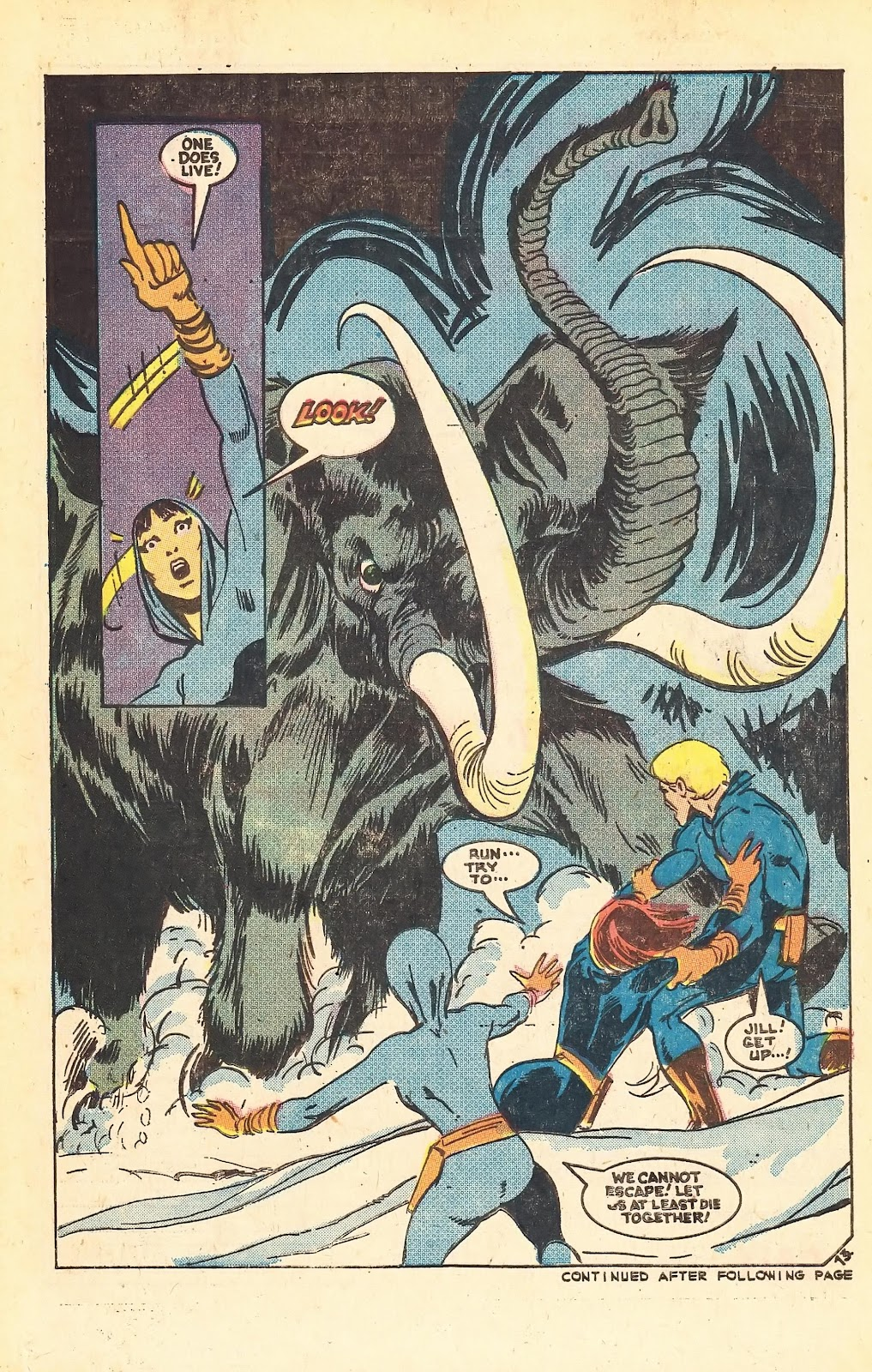Read online Doomsday   1 (1975) comic -  Issue #1 - 18
