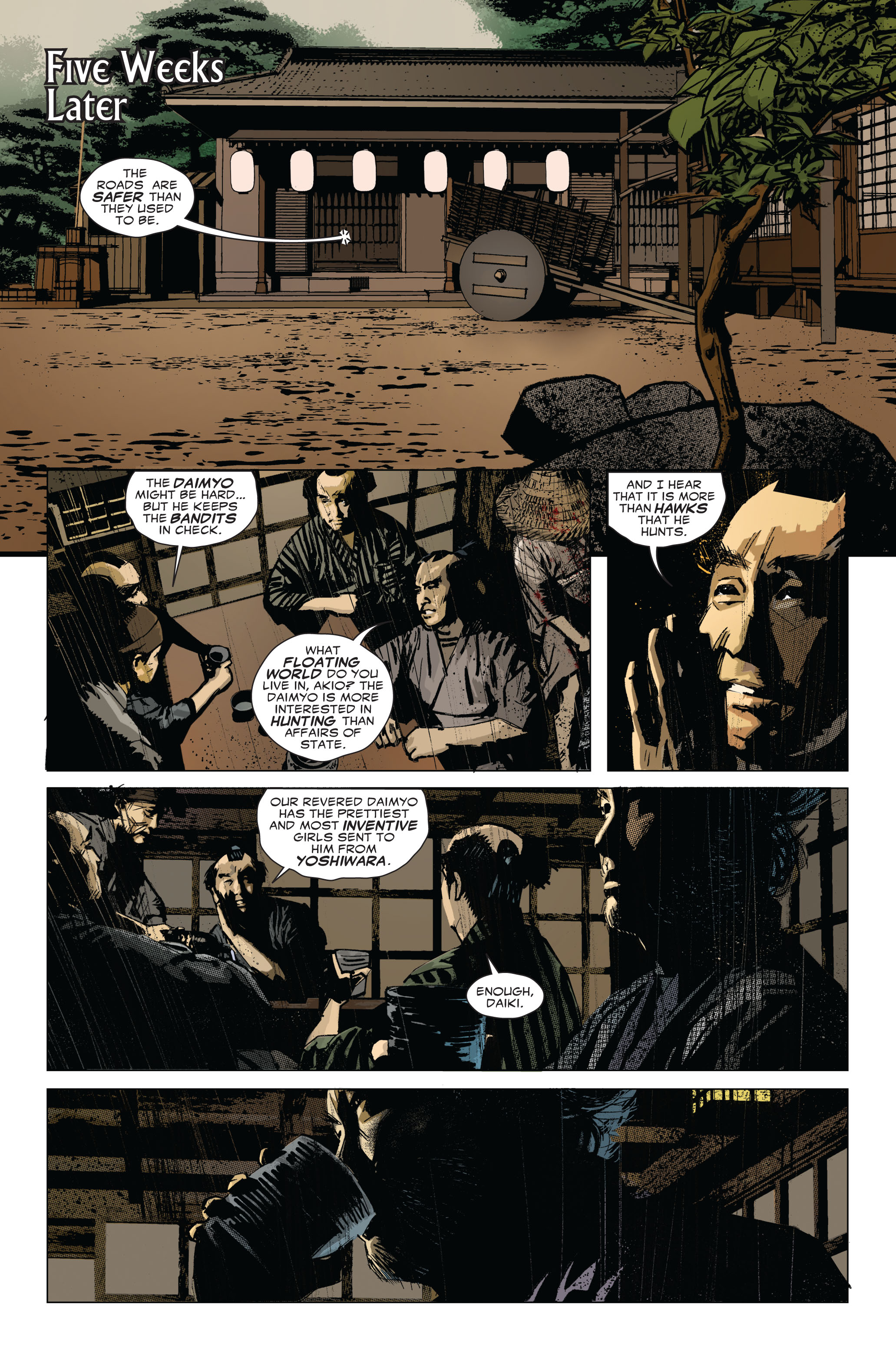Read online 5 Ronin (2011) comic -  Issue #1 - 10