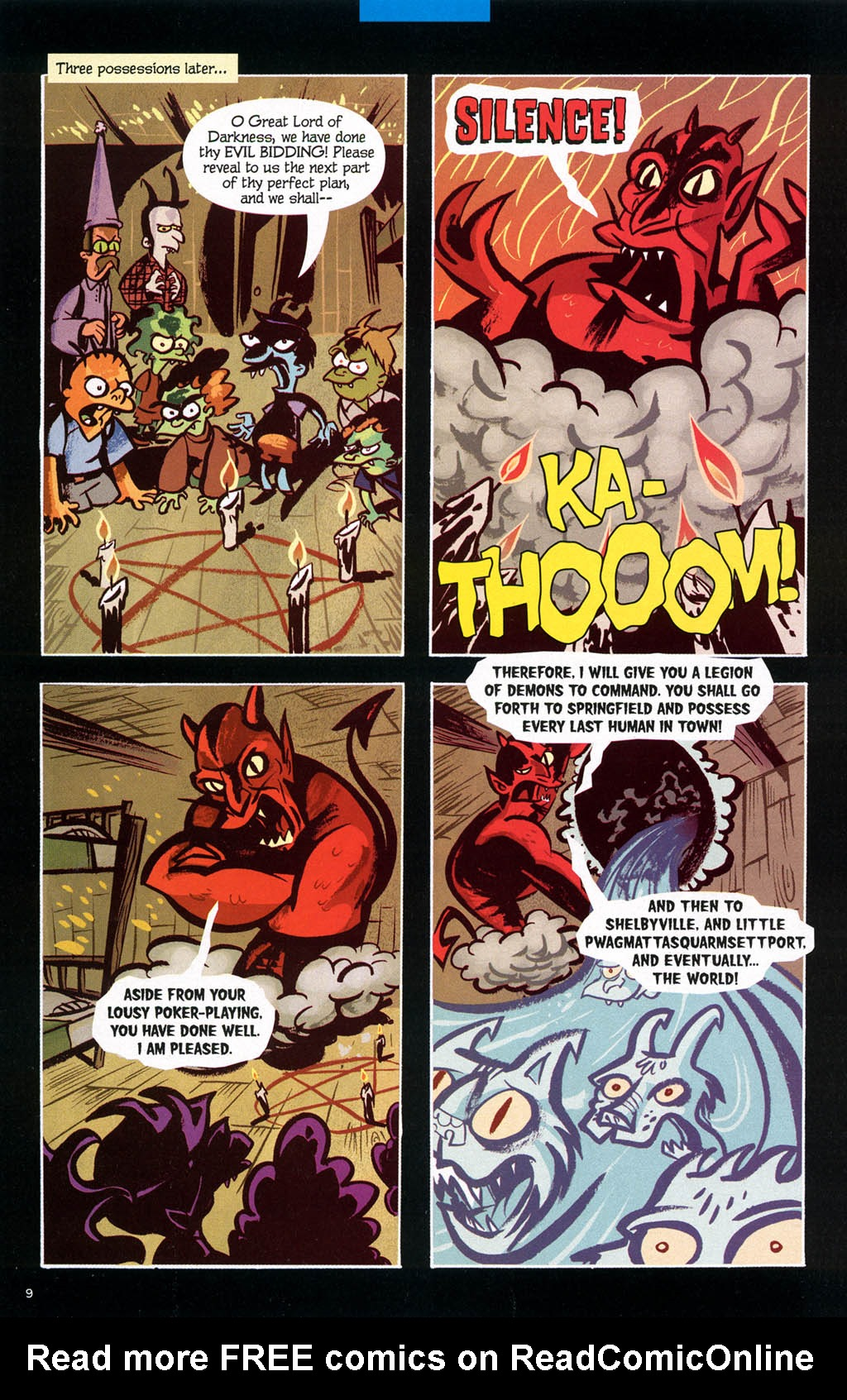 Read online Treehouse of Horror comic -  Issue #10 - 49