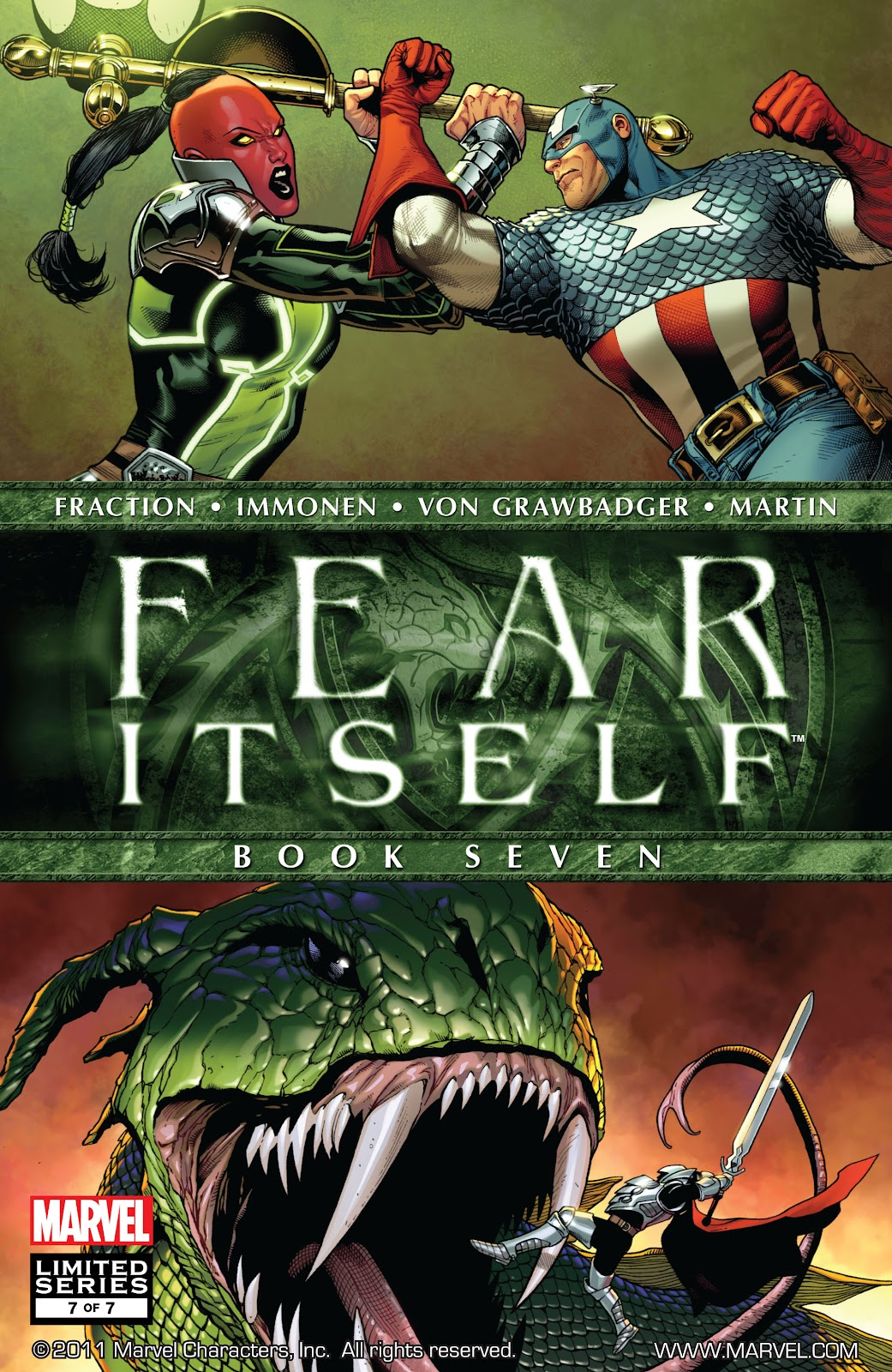 Fear Itself 7 Page 1