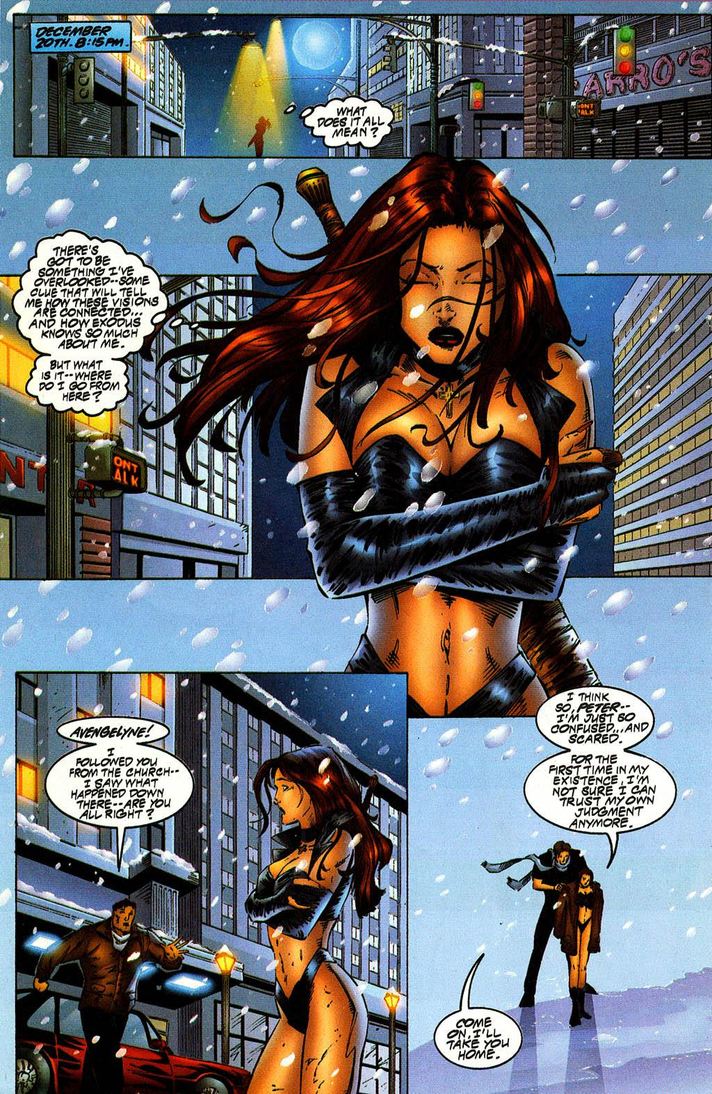 Read online Avengelyne (1996) comic -  Issue #10 - 17
