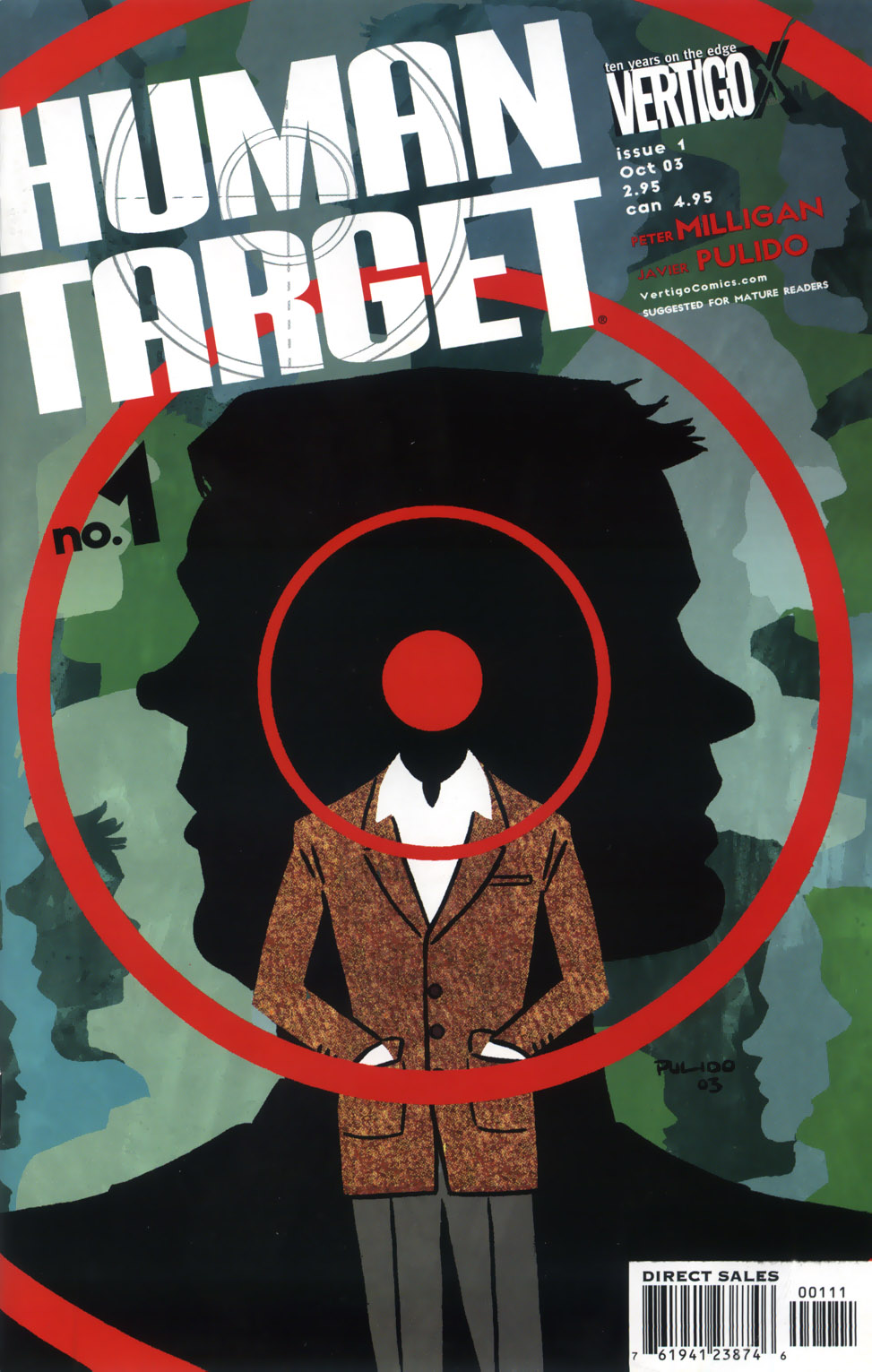 Human Target (2003) issue 1 - Page 1