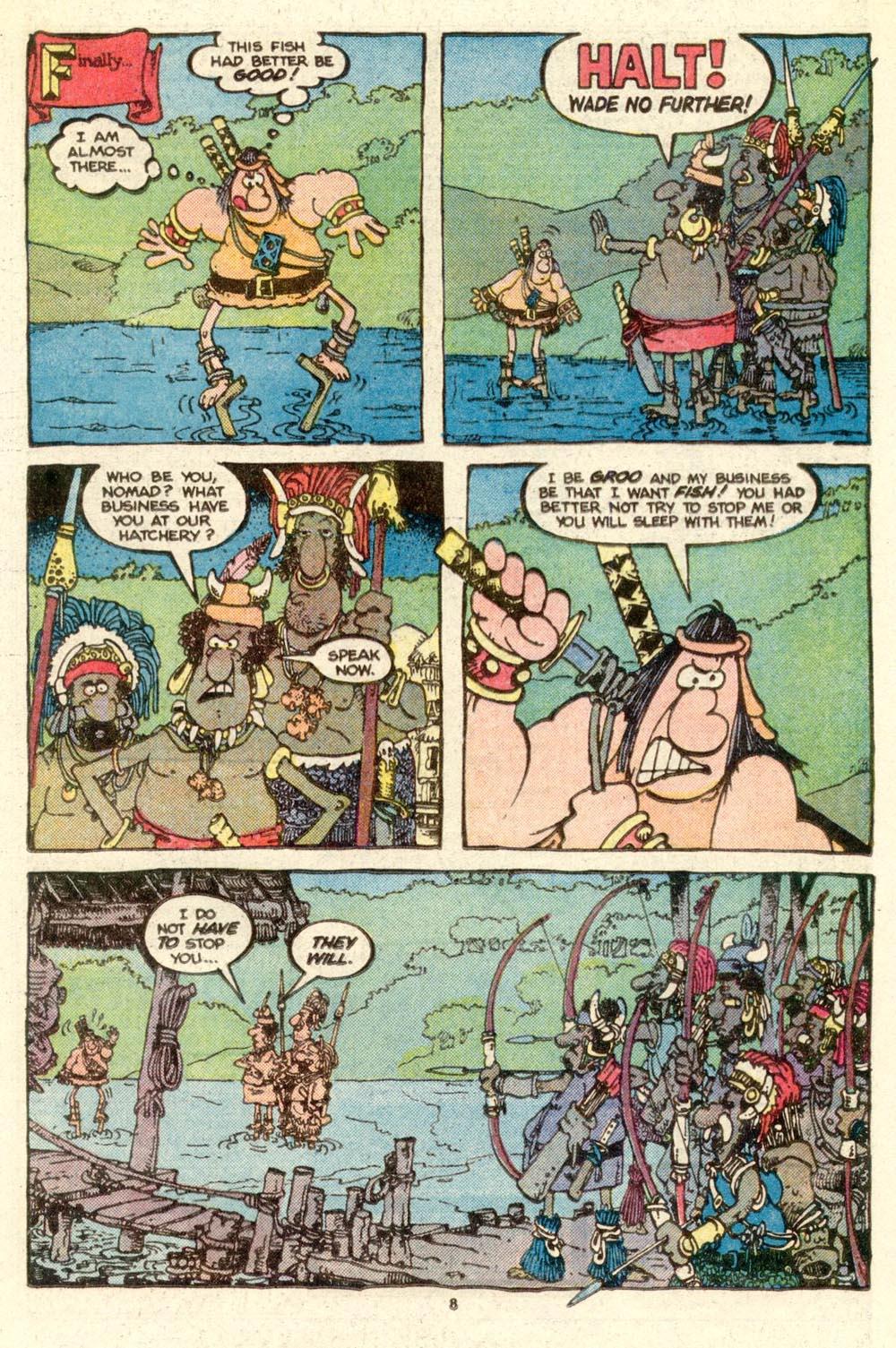 Read online Sergio Aragonés Groo the Wanderer comic -  Issue #17 - 8