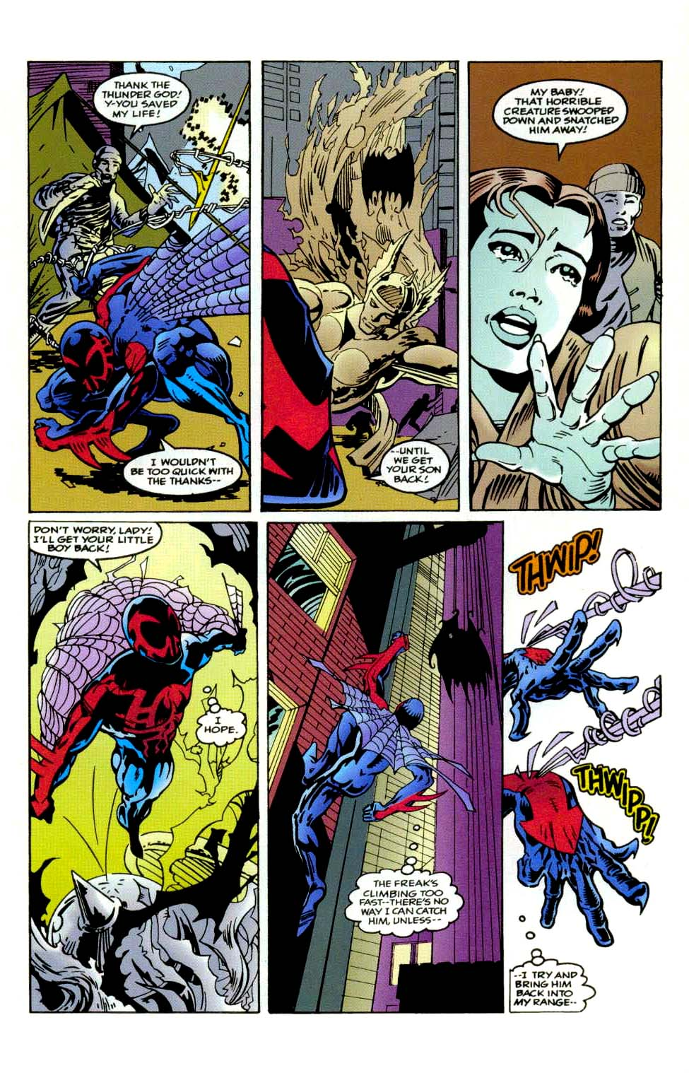 Read online 2099 Unlimited comic -  Issue #9 - 18