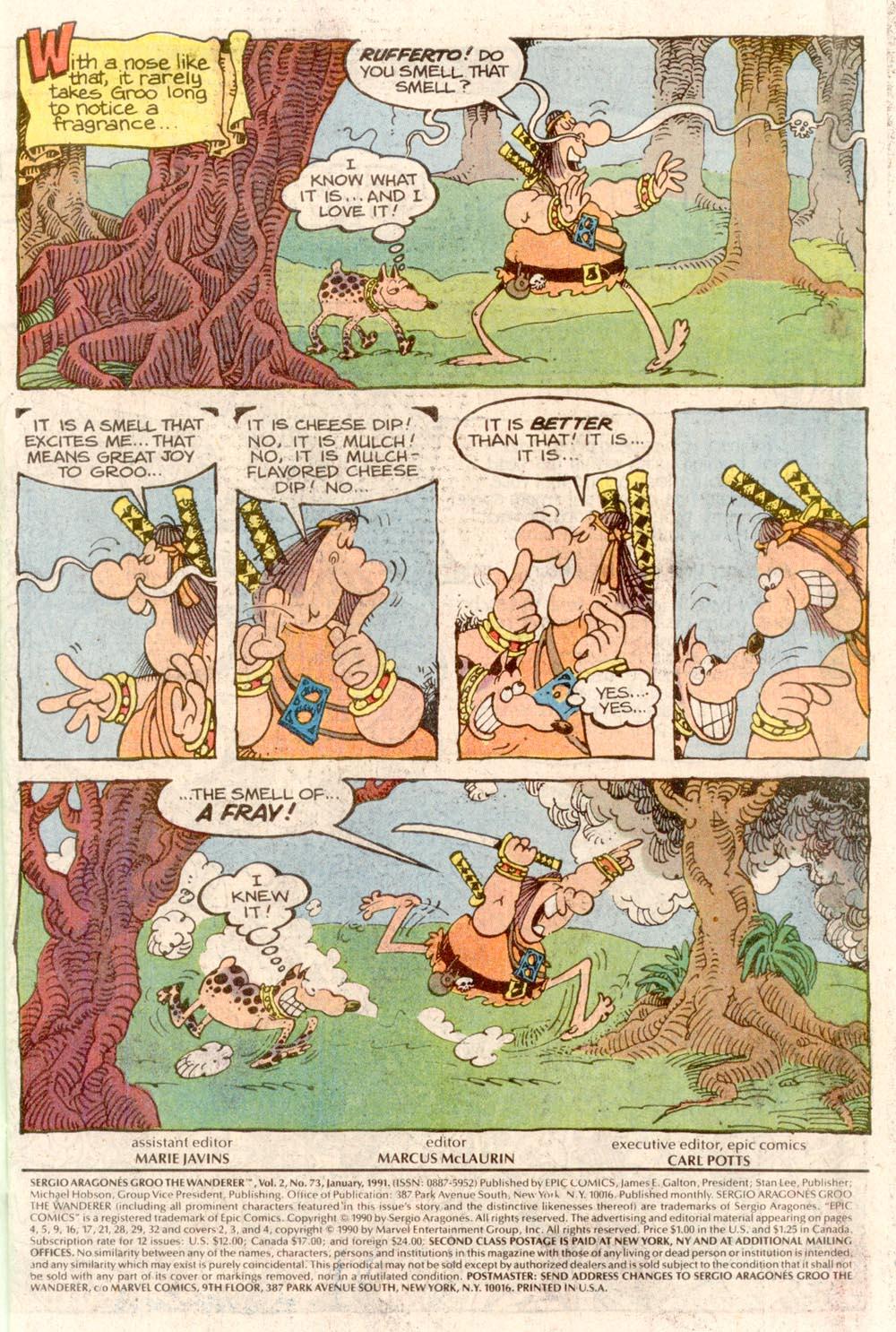 Read online Sergio Aragonés Groo the Wanderer comic -  Issue #73 - 3
