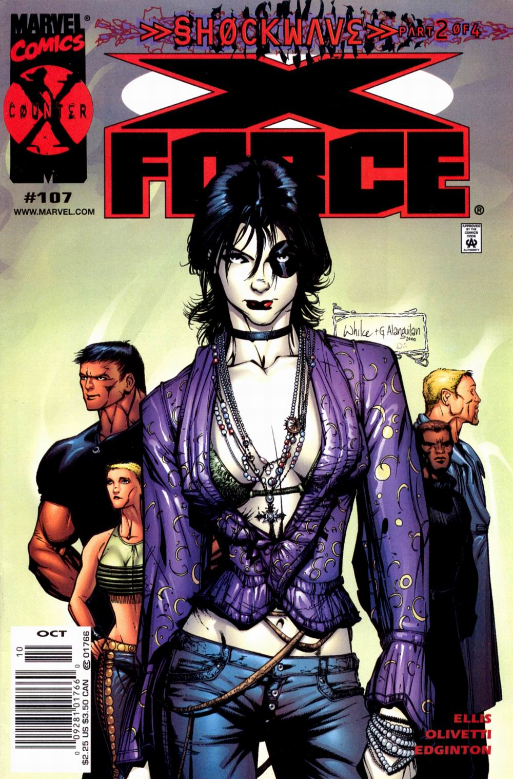 Read online X-Force (1991) comic -  Issue #107 - 2