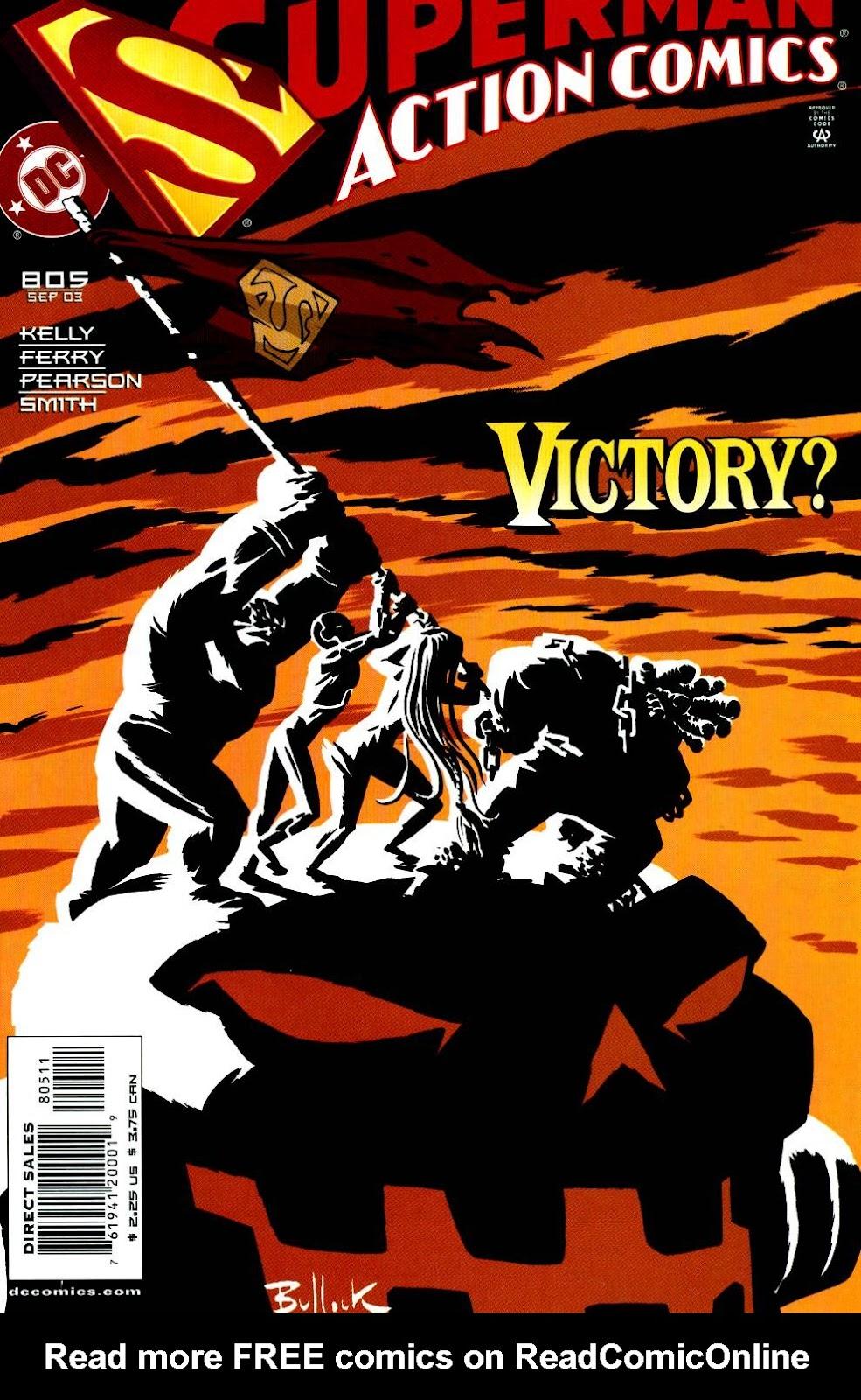 Action Comics (1938) 805 Page 1