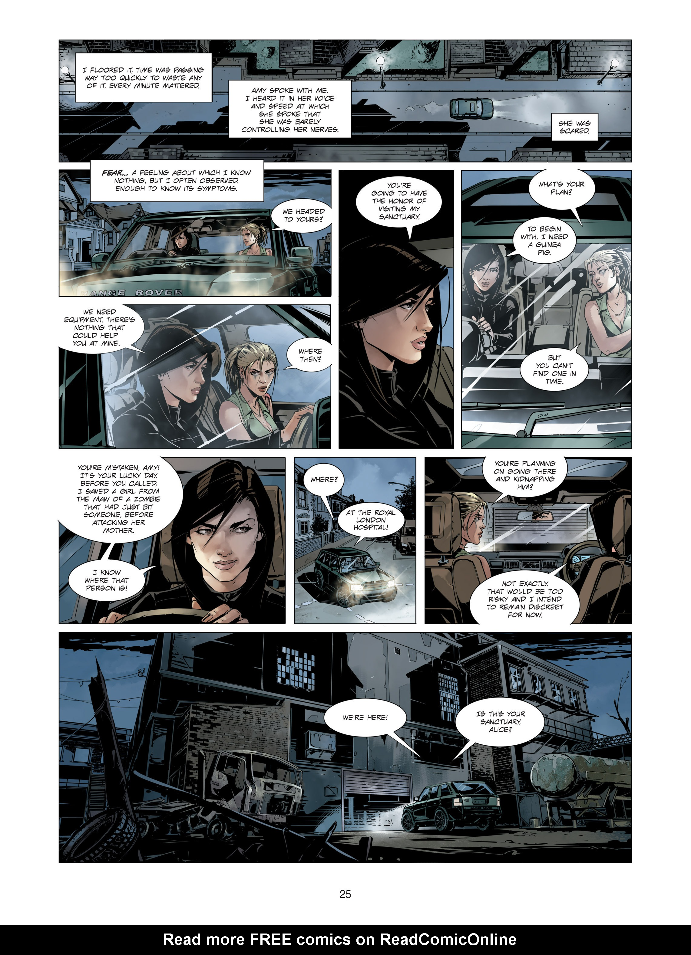 Read online Alice Matheson comic -  Issue #3 - 25