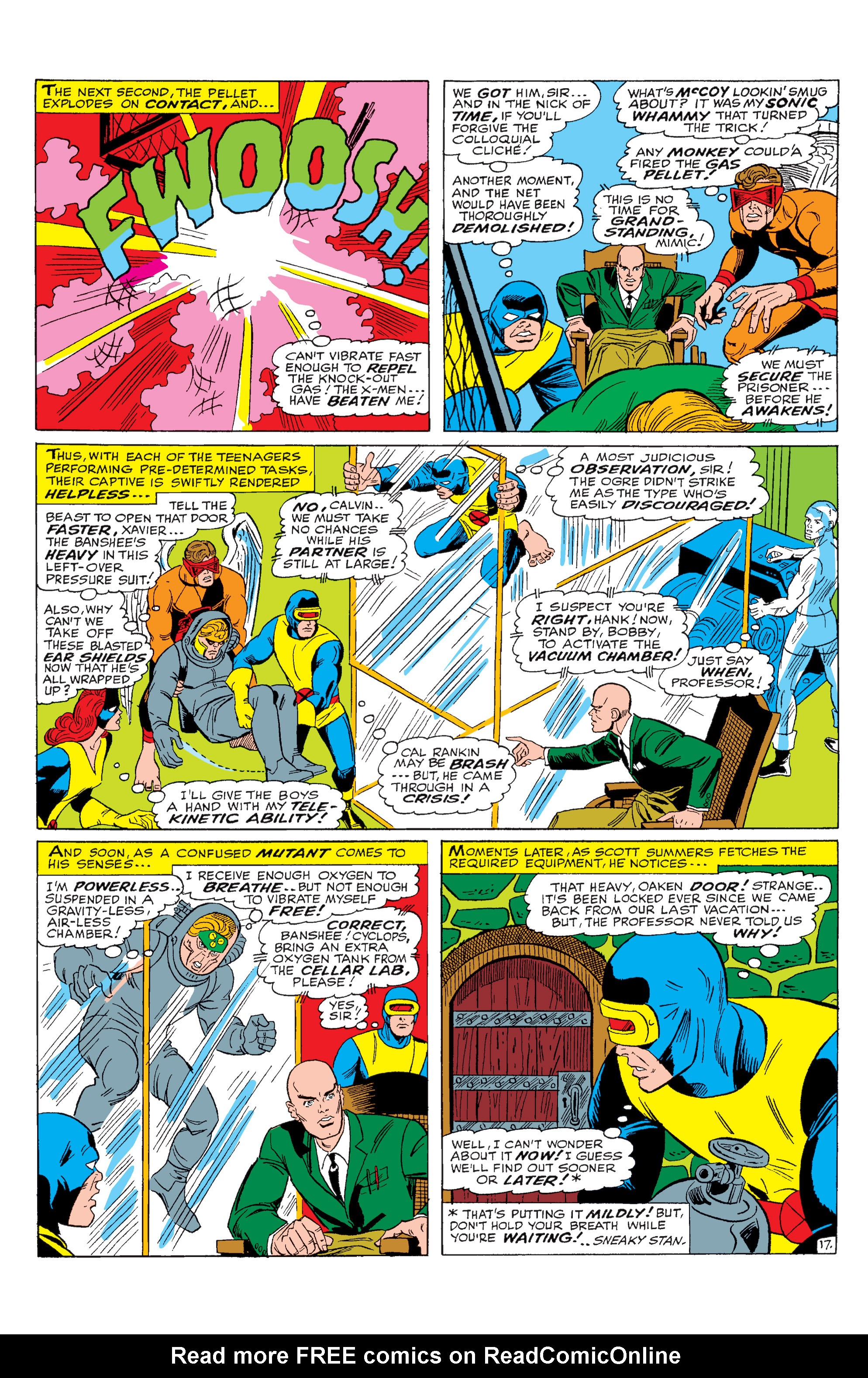 Read online Uncanny X-Men (1963) comic -  Issue #28 - 18
