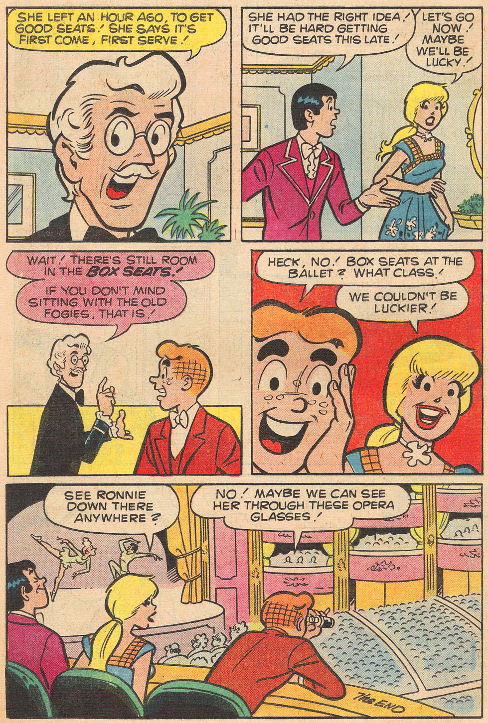 Read online Archie's Girls Betty and Veronica comic -  Issue #264 - 18