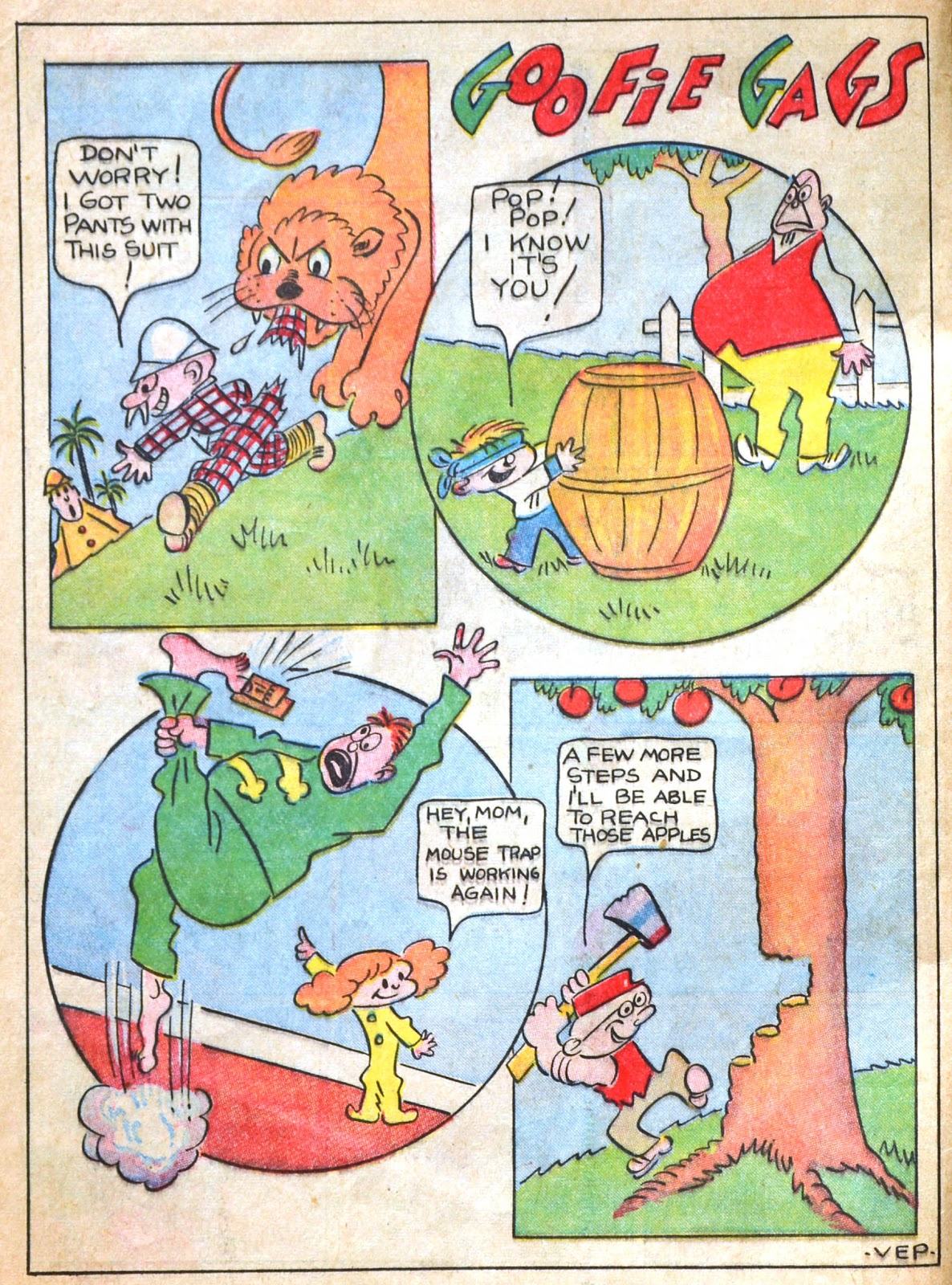Read online Famous Funnies comic -  Issue #51 - 4