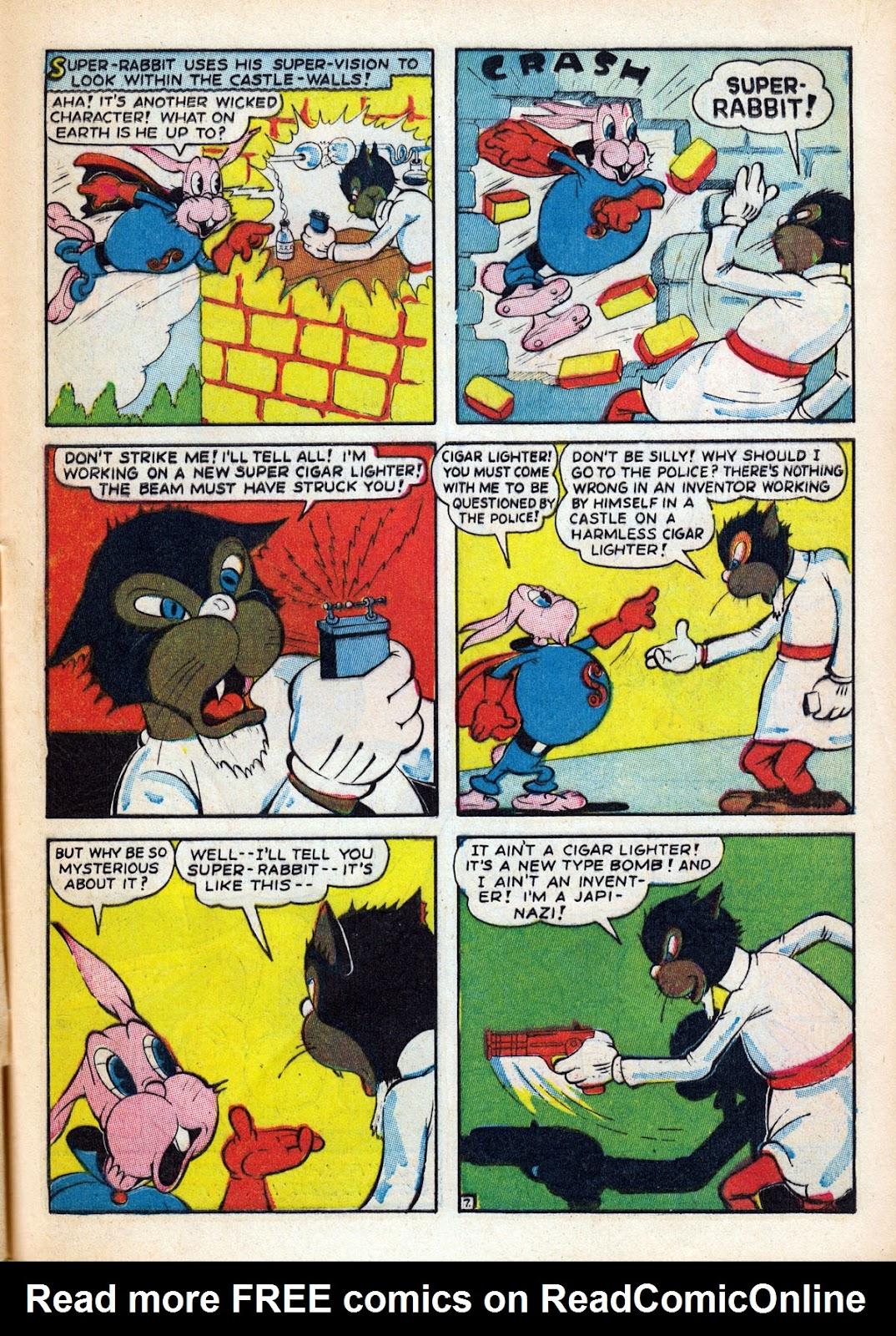 Read online Comedy Comics (1942) comic -  Issue #15 - 7