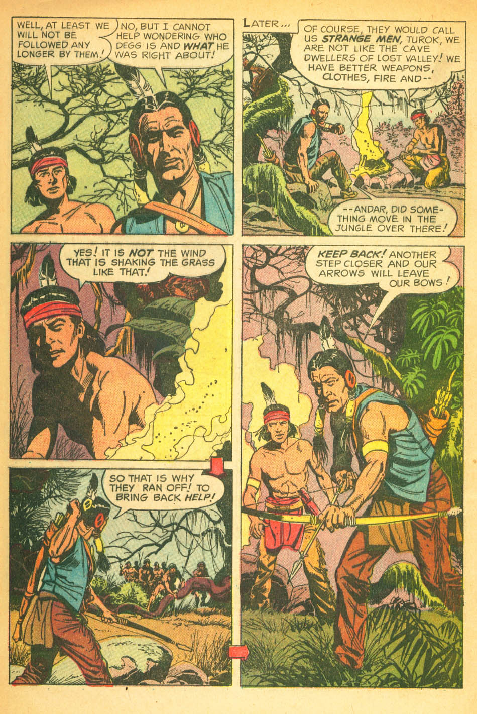 Read online Turok, Son of Stone comic -  Issue #27 - 4