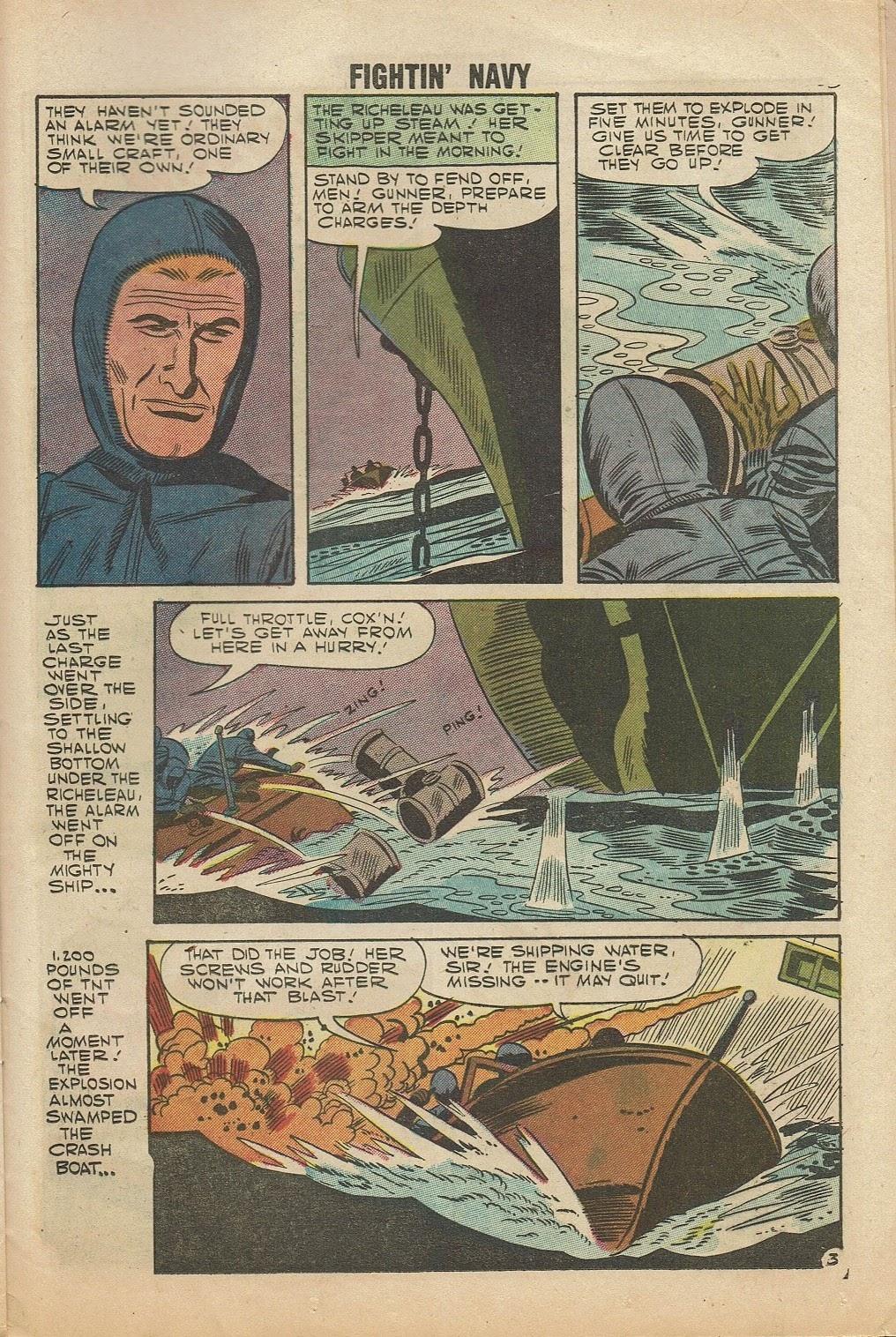 Read online Fightin' Navy comic -  Issue #81 - 25