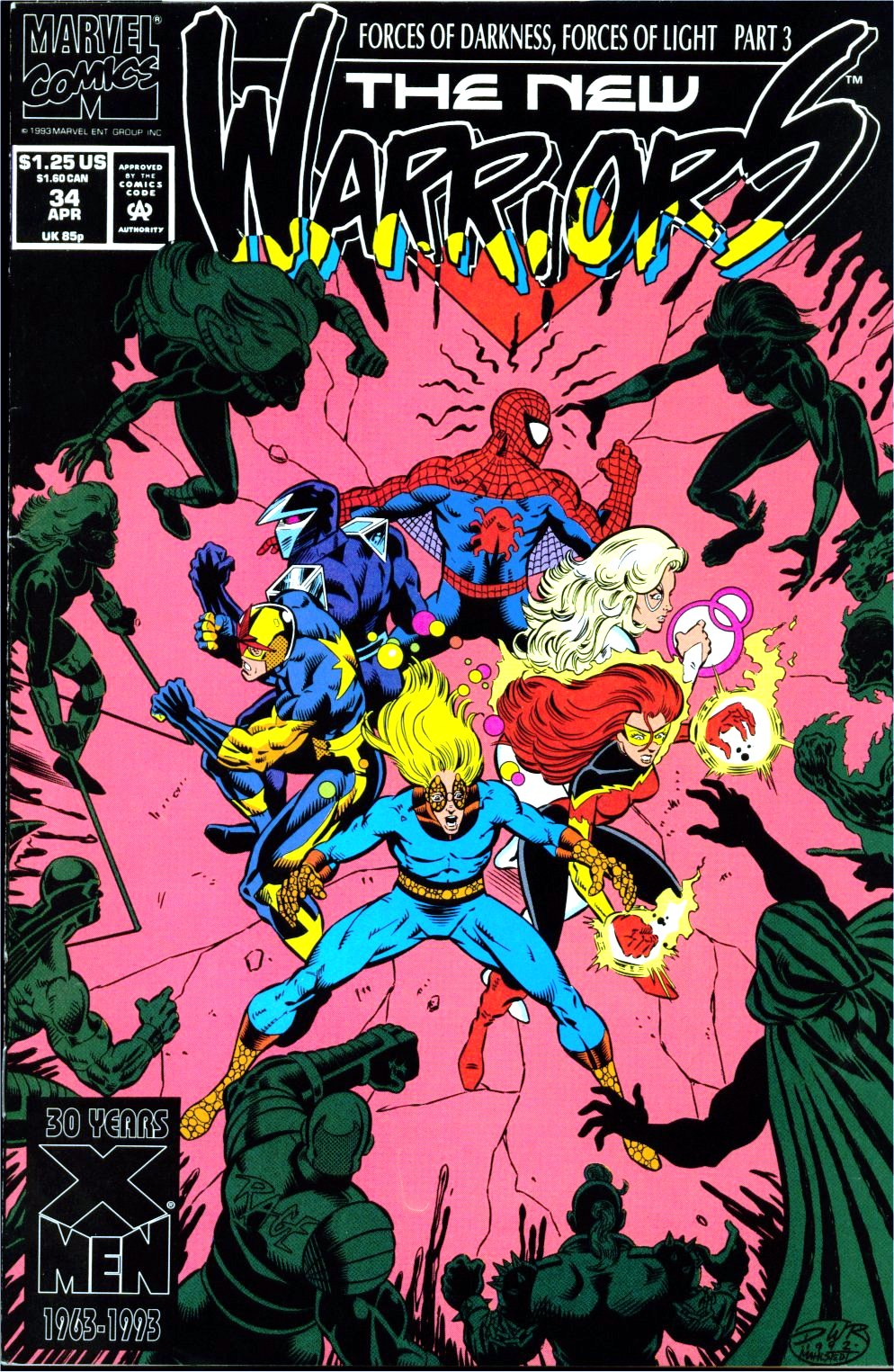 The New Warriors Issue #34 #38 - English 1