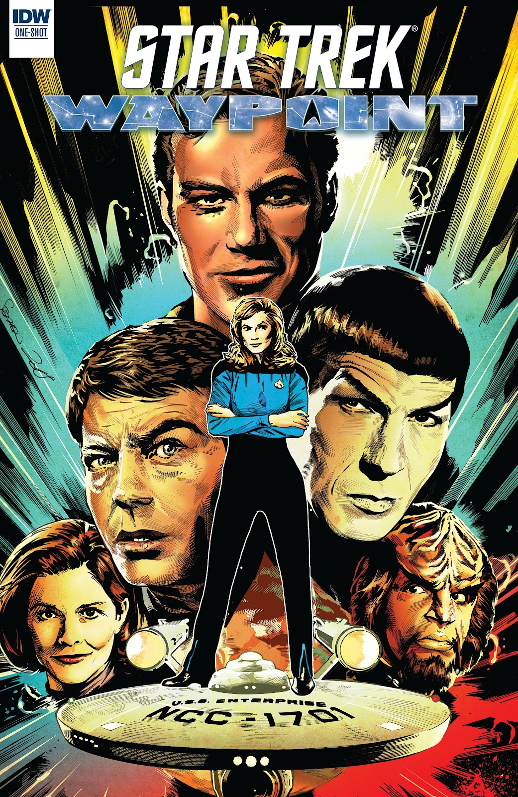 Read online Star Trek: Waypoint Special 2019 comic -  Issue # Full - 1