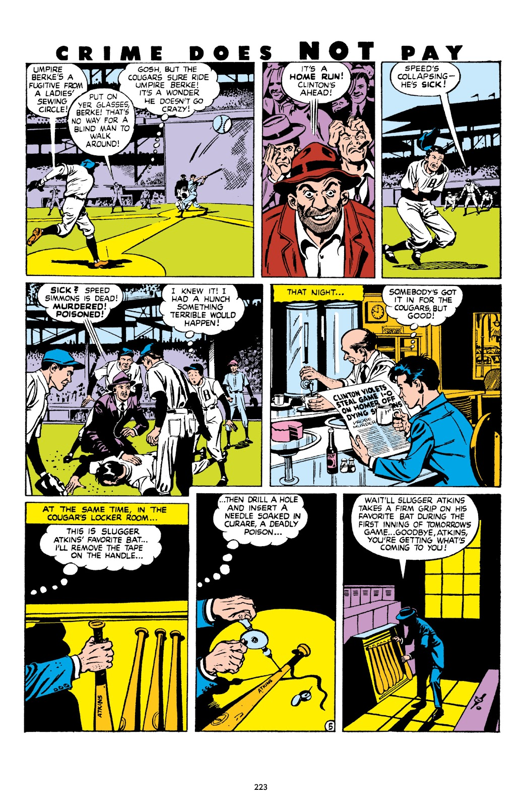 Read online Crime Does Not Pay Archives comic -  Issue # TPB 8 (Part 3) - 24