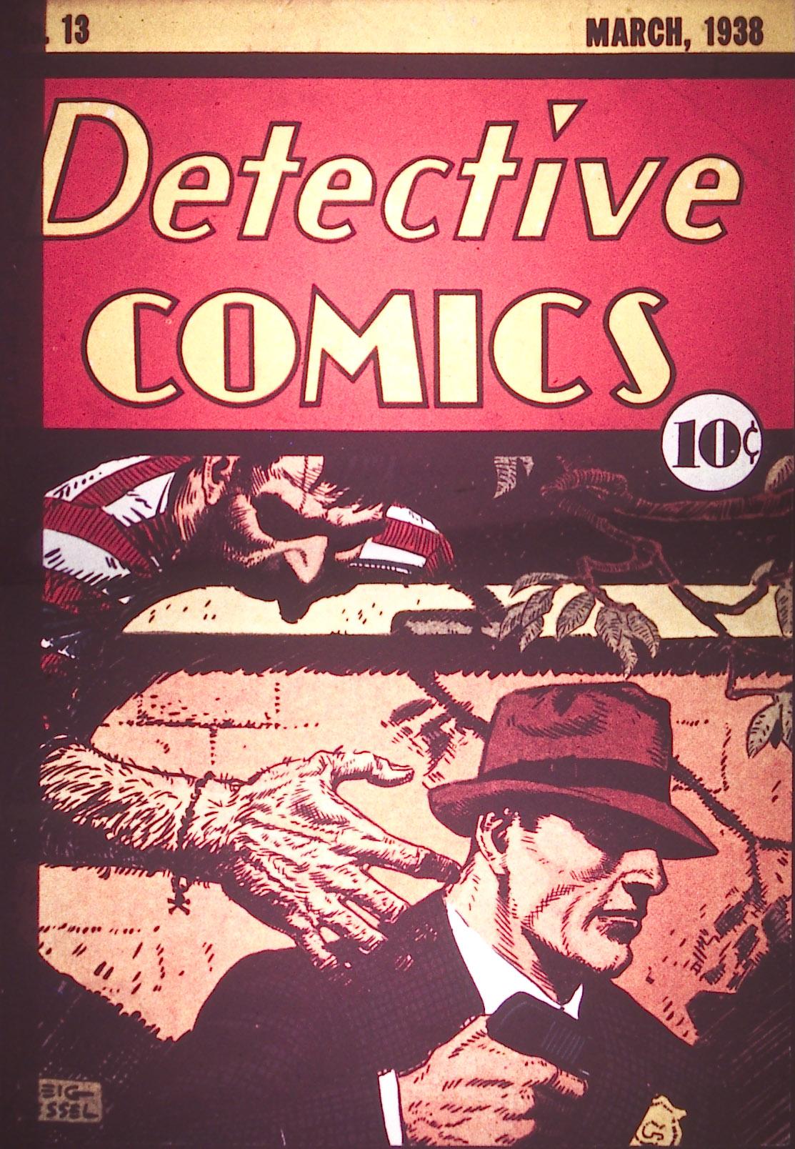 Detective Comics (1937) 13 Page 0